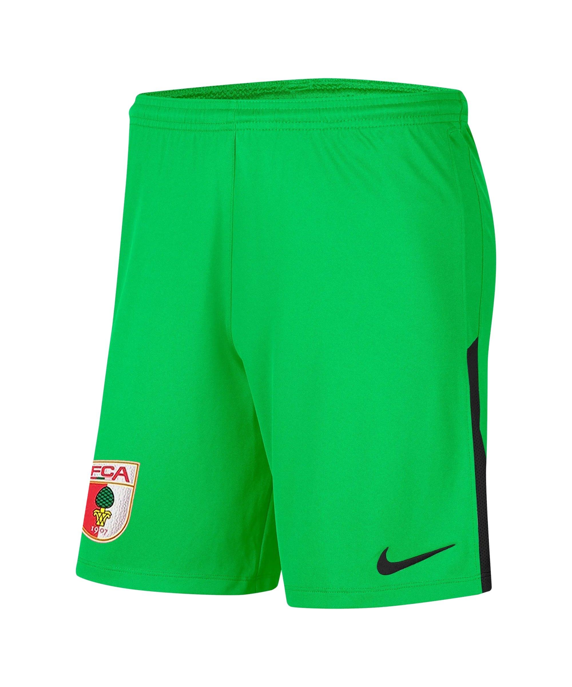 Nike FC Augsburg Torwartshort 2021/2022 F329 - gruen