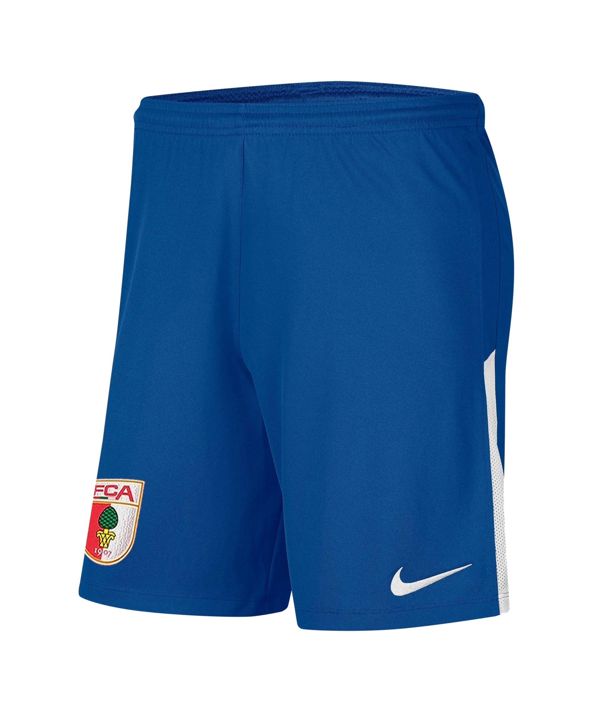 Nike FC Augsburg Torwartshort 2021/2022 F477 - blau