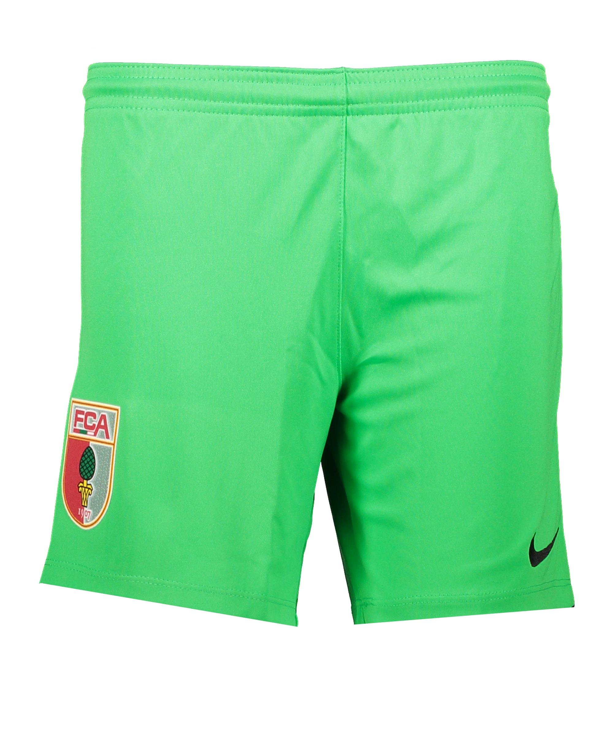 Nike FC Augsburg Torwartshort 2021/2022 Kids F329 - gruen