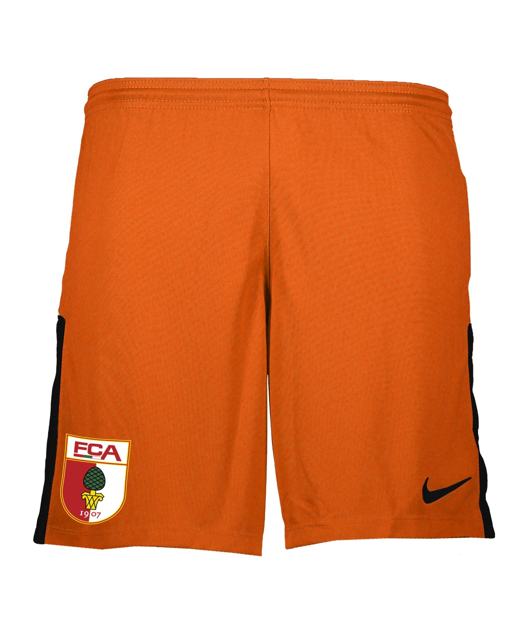Nike FC Augsburg Torwartshort 2021/2022 Kids F891 - orange