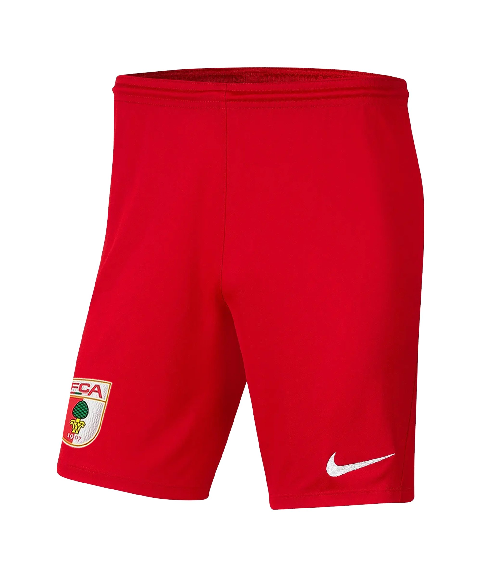 Nike FC Augsburg Short Home 2021/2022 Kids Rot F657 - rot