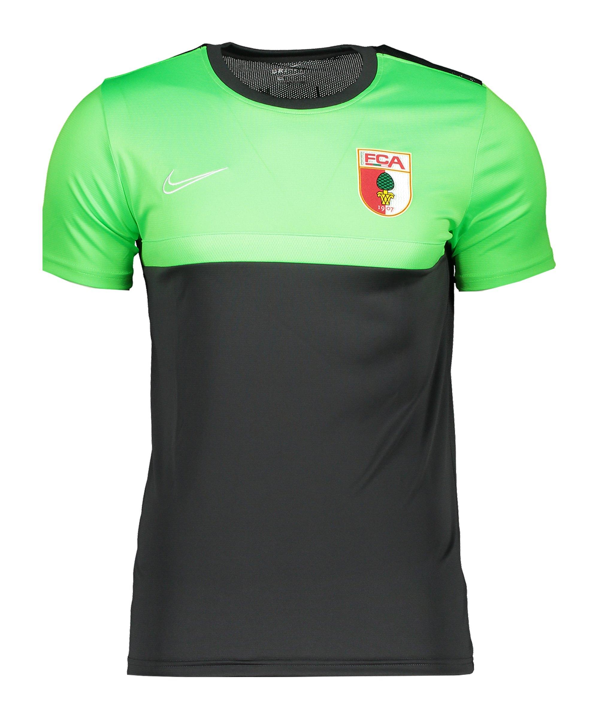 Nike FC Augsburg Trainingsshirt kurzarm Grau F074 - grau
