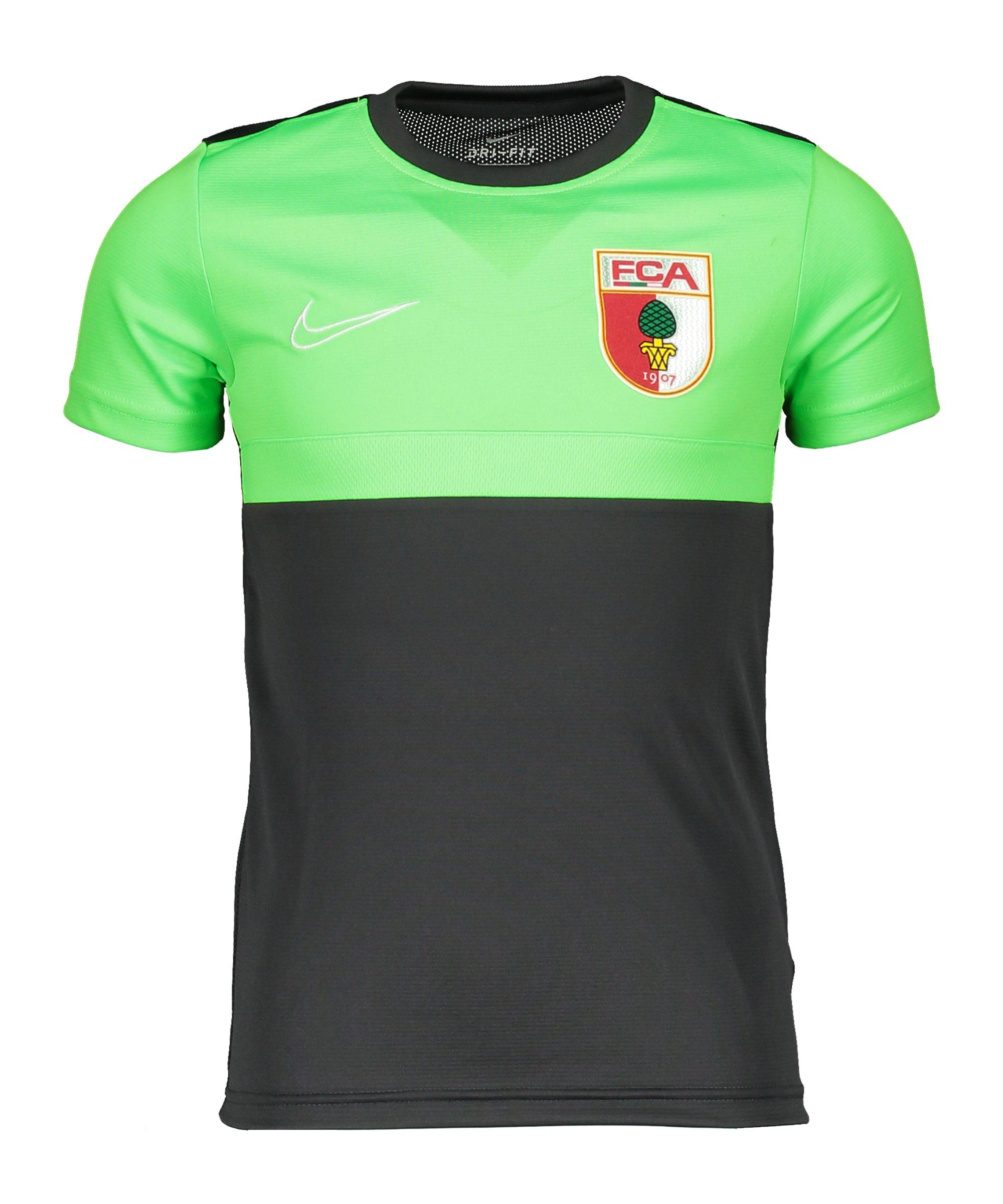 Nike FC Augsburg Trainingsshirt kurzarm Kids F068 - grau