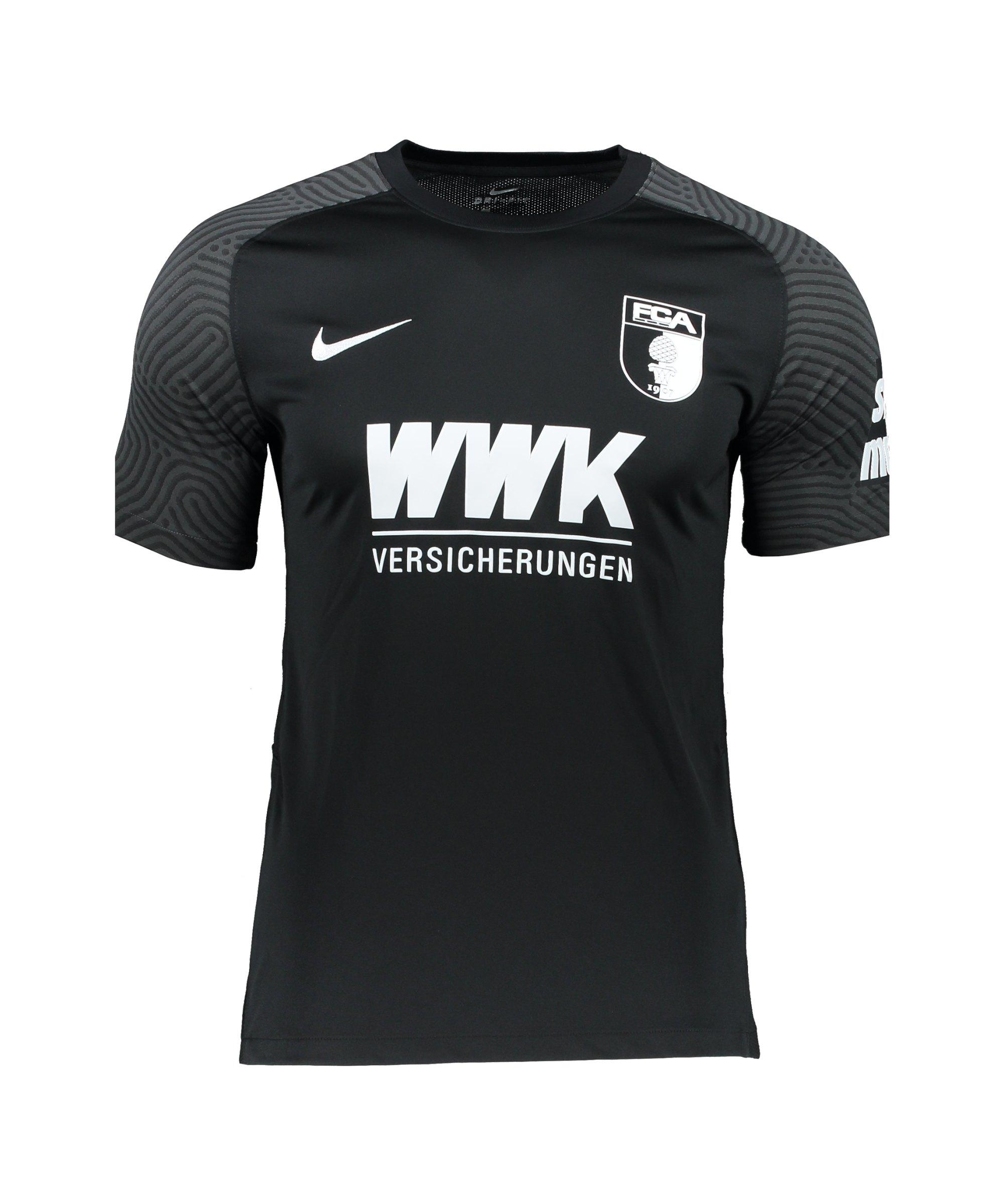 Nike FC Augsburg Trikot 3rd 2021/2022 Kids Schwarz F010 - schwarz