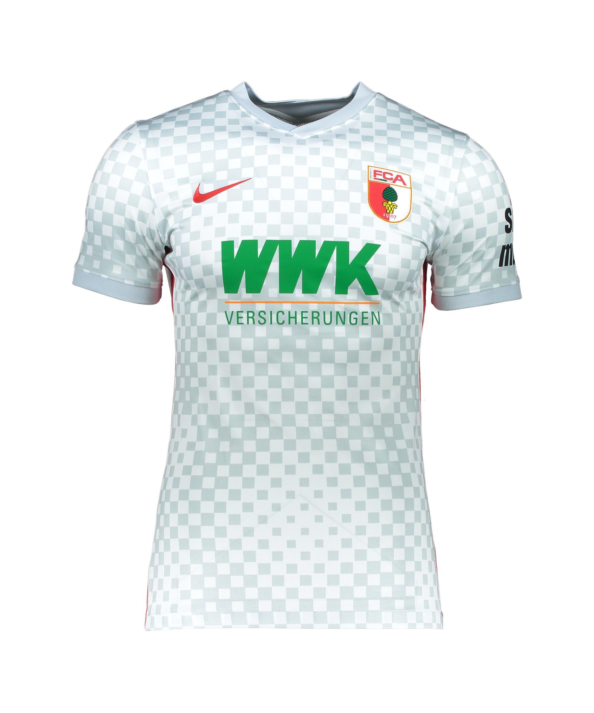 Nike FC Augsburg Trikot Away 2021/2022 Kids Weiss F102 - weiss