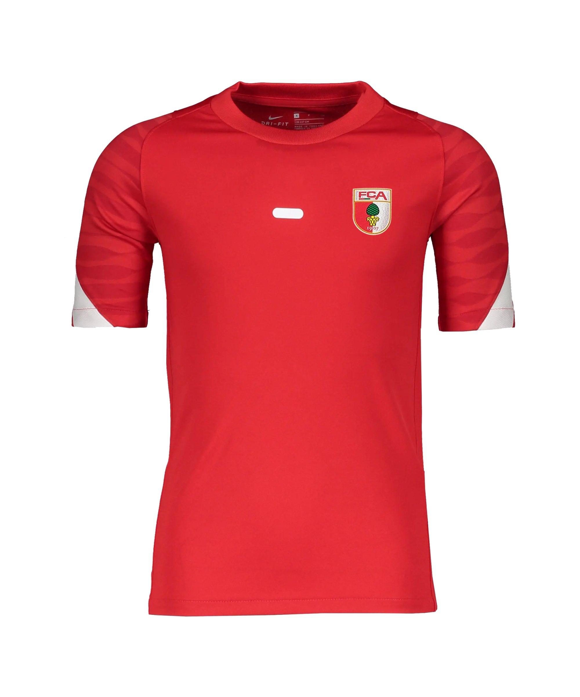 Nike FC Augsburg Trainingsshirt Rot F657 - rot
