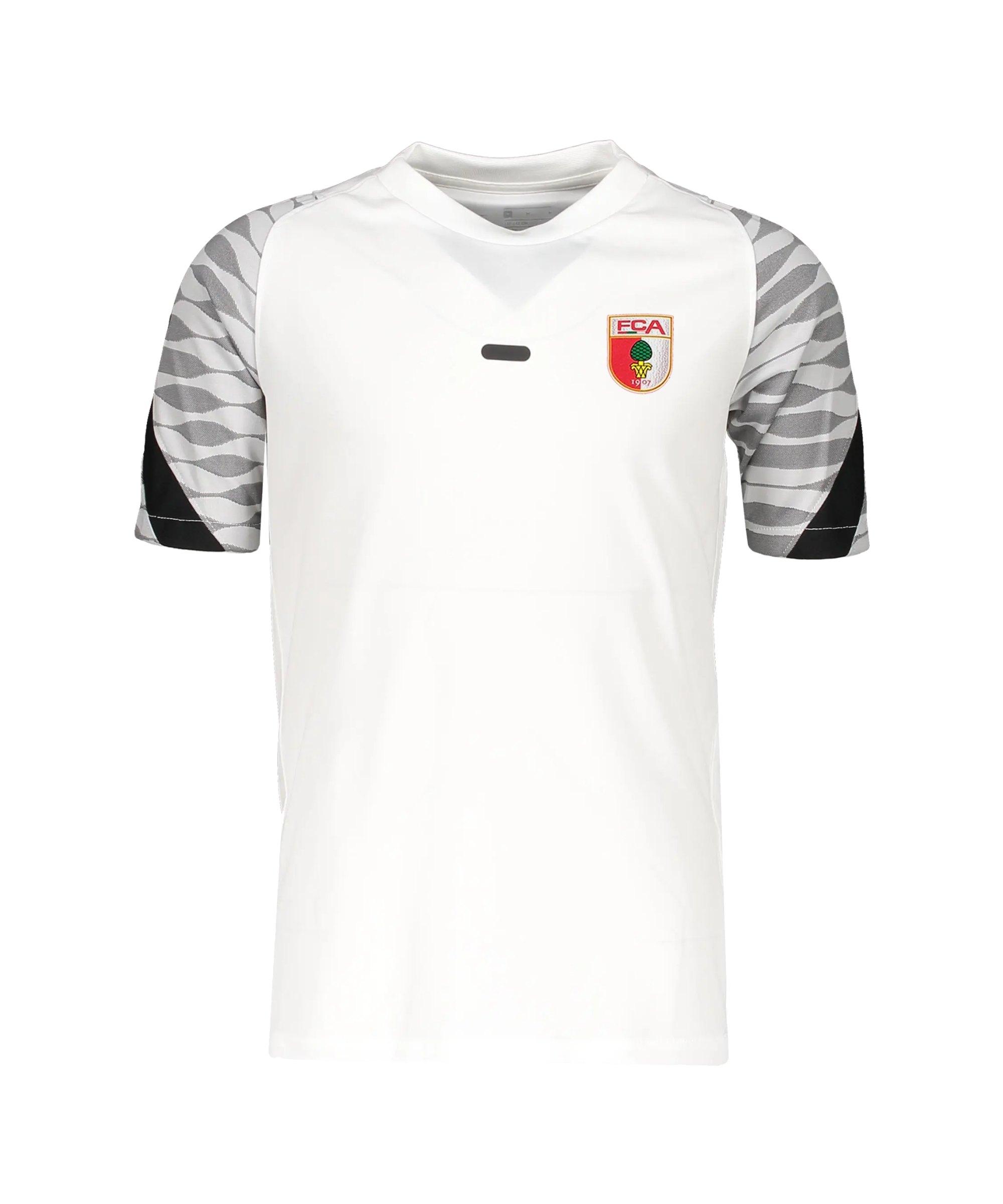 Nike FC Augsburg Trainingsshirt Weiss F100 - weiss