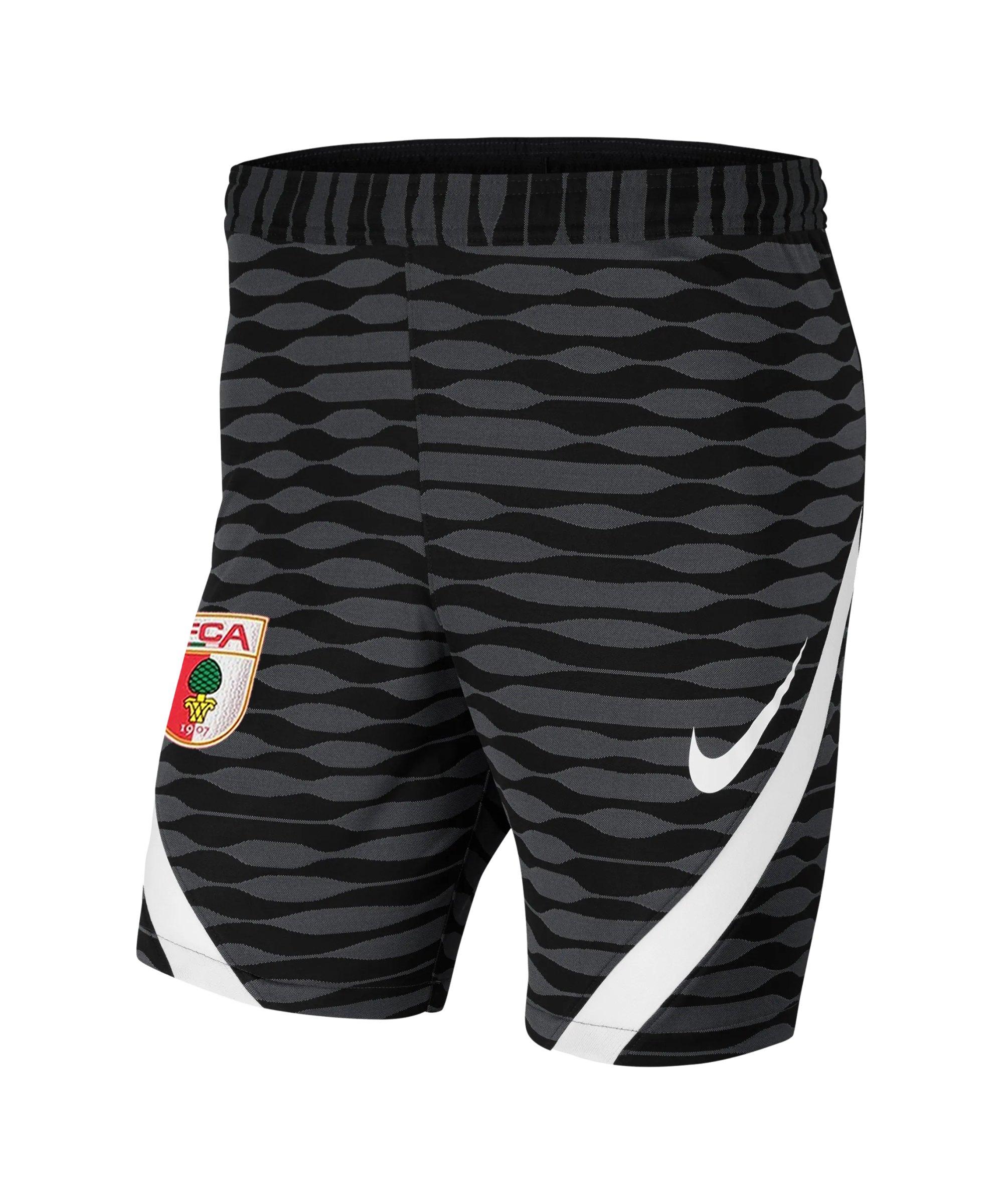 Nike FC Augsburg Trainingsshort Schwarz F010 - schwarz