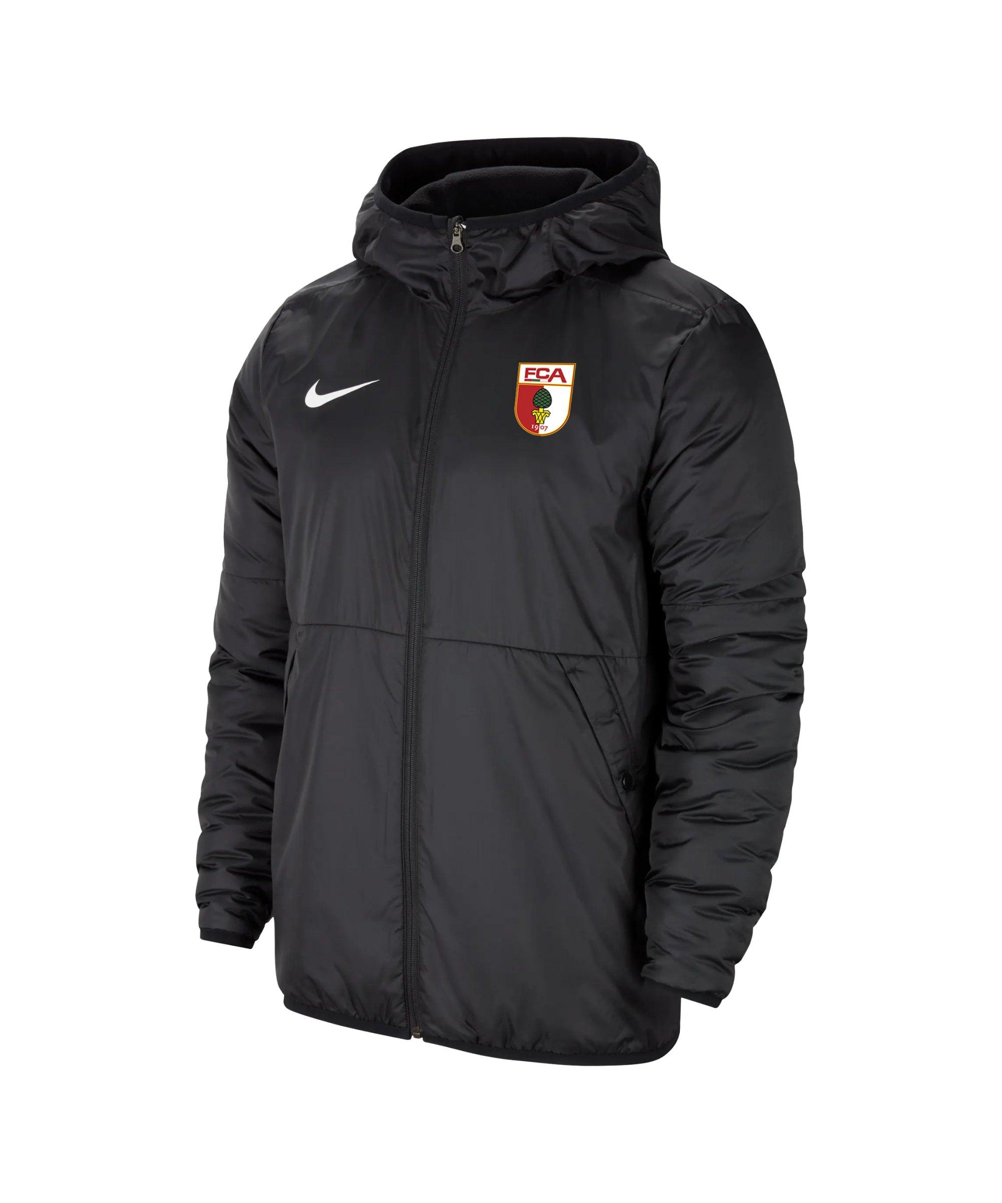 Nike FC Augsburg Repel Trainingsjacke Schwarz F010 - schwarz