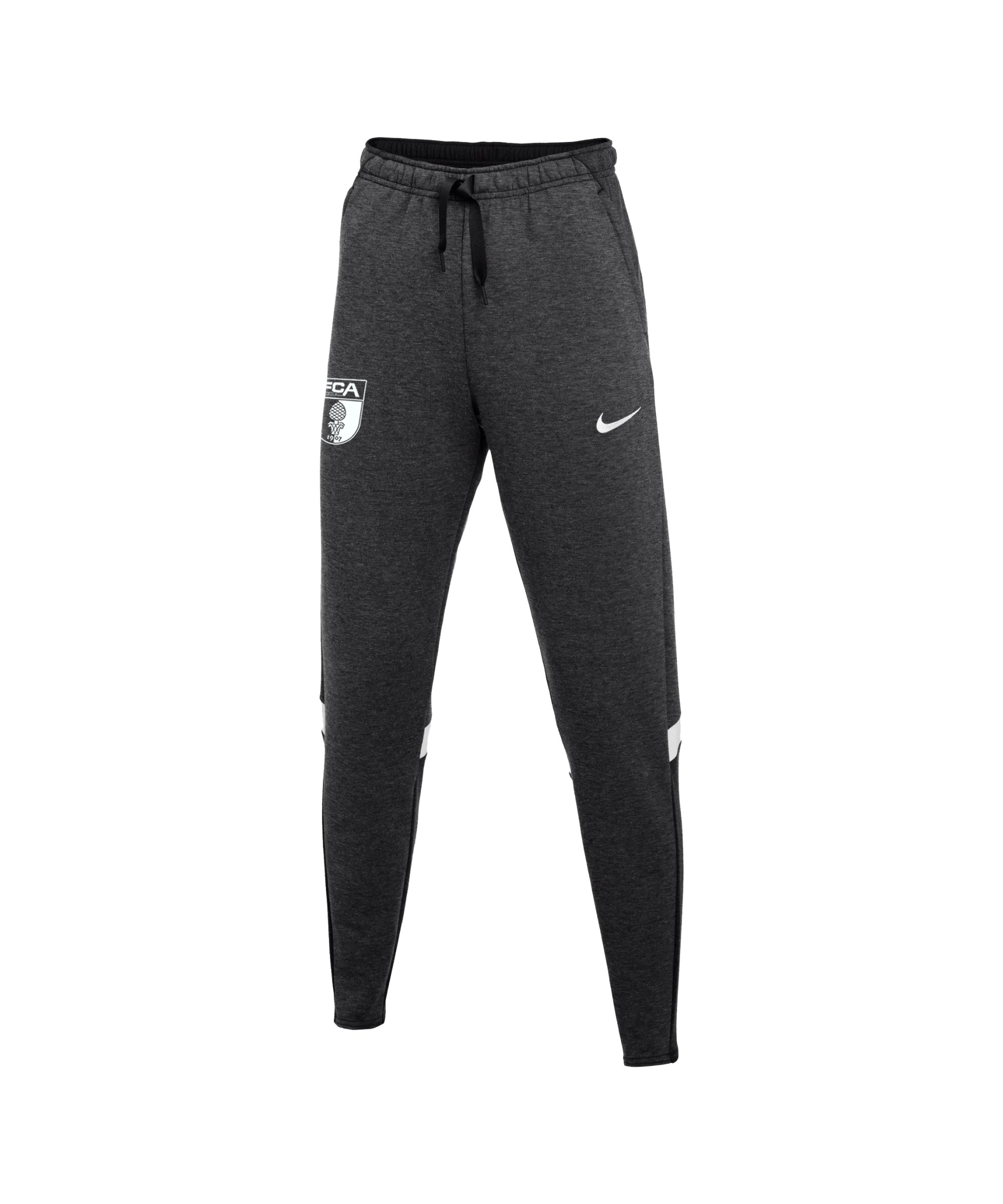 Nike FC Augsburg Fleece Trainingshose Grau F011 - grau