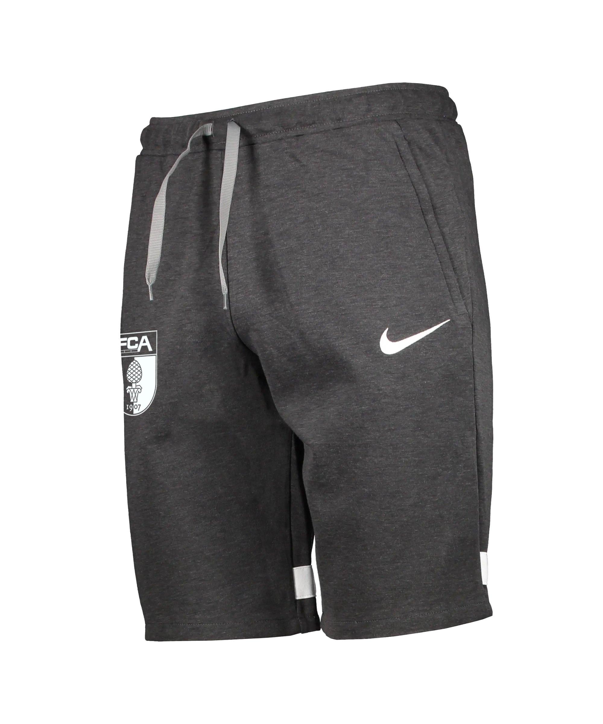 Nike FC Augsburg Fleece Short Grau F011 - grau