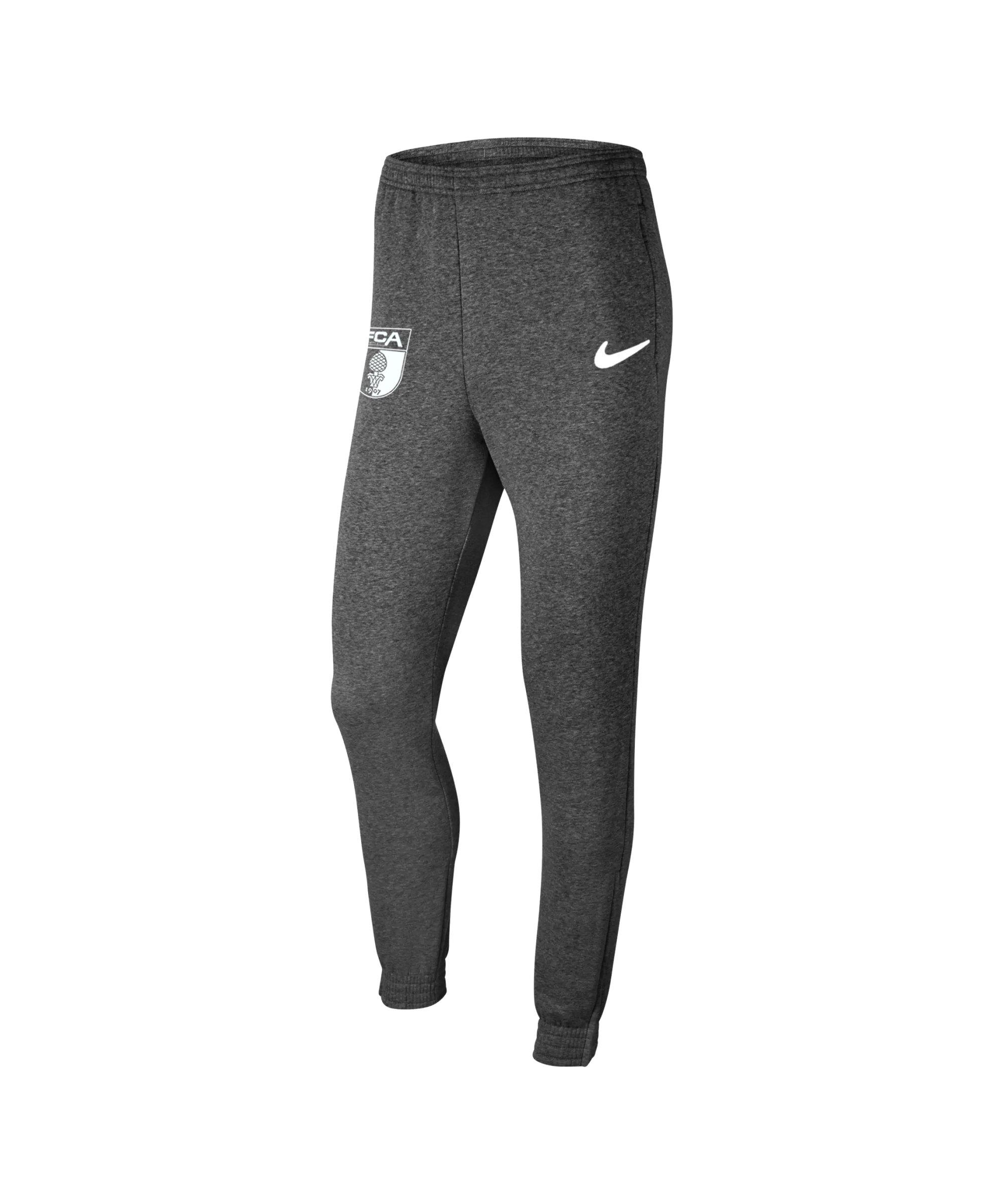 Nike FC Augsburg Fleece Jogginghose Kids Grau F071 - grau