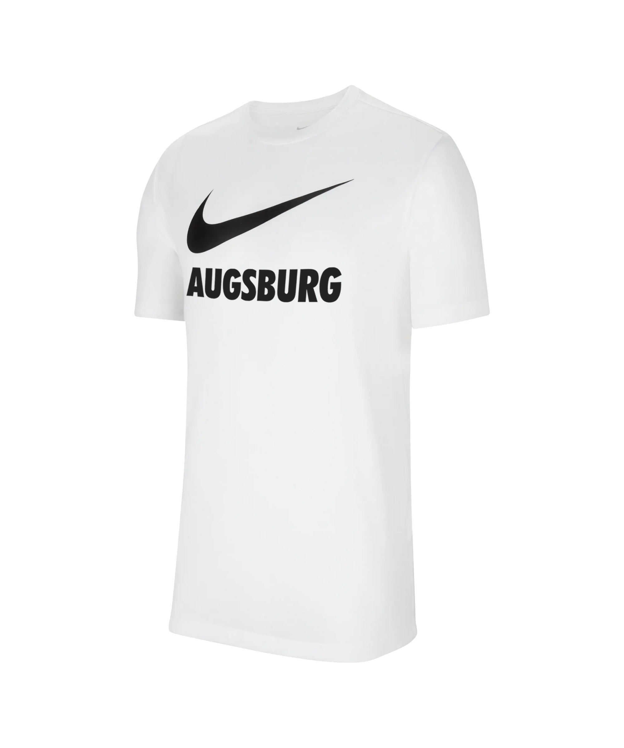 Nike FC Augsburg Fleece T-Shirt Weiss F100 - weiss