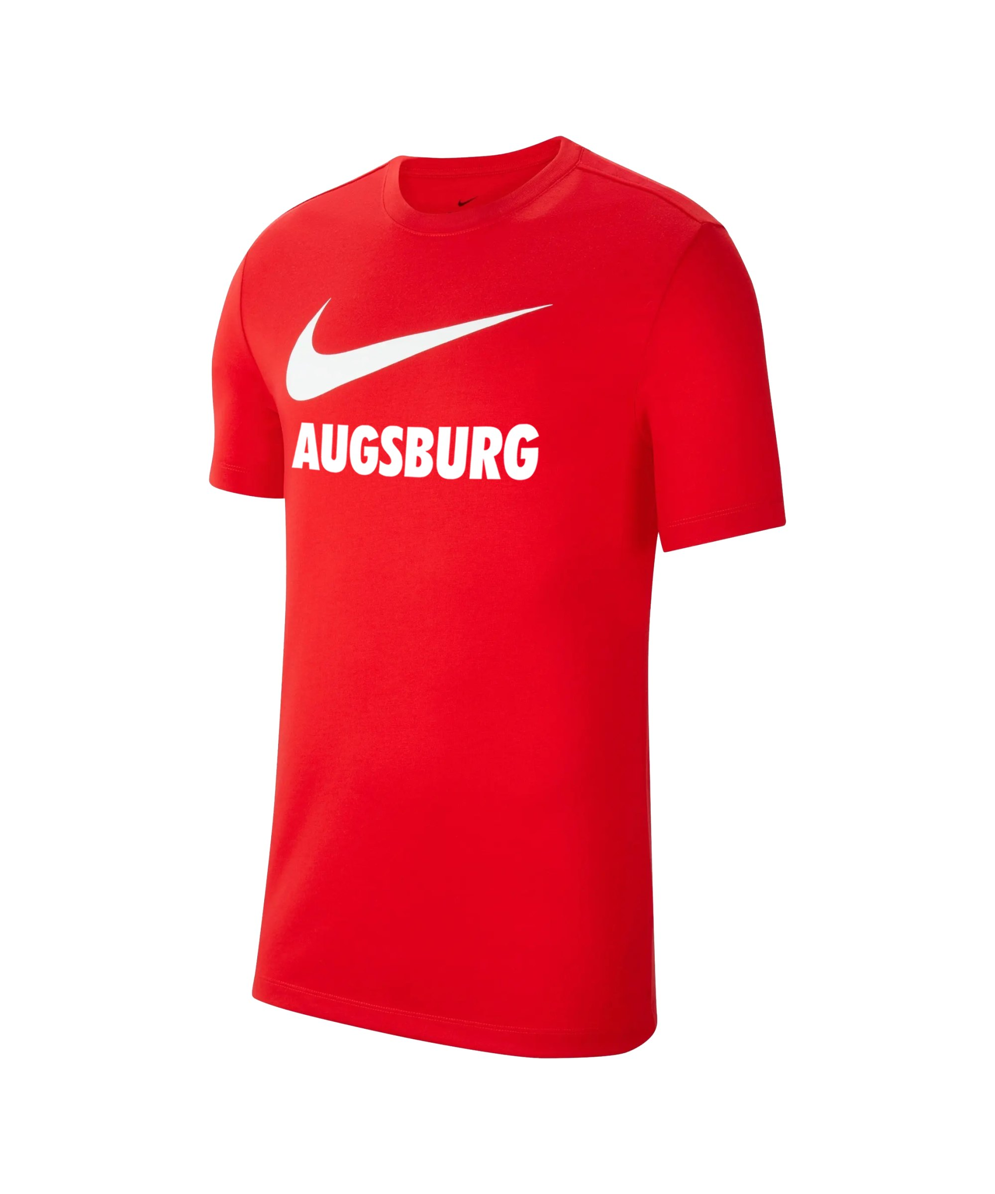 Nike FC Augsburg Fleece T-Shirt Kids Rot F657 - rot