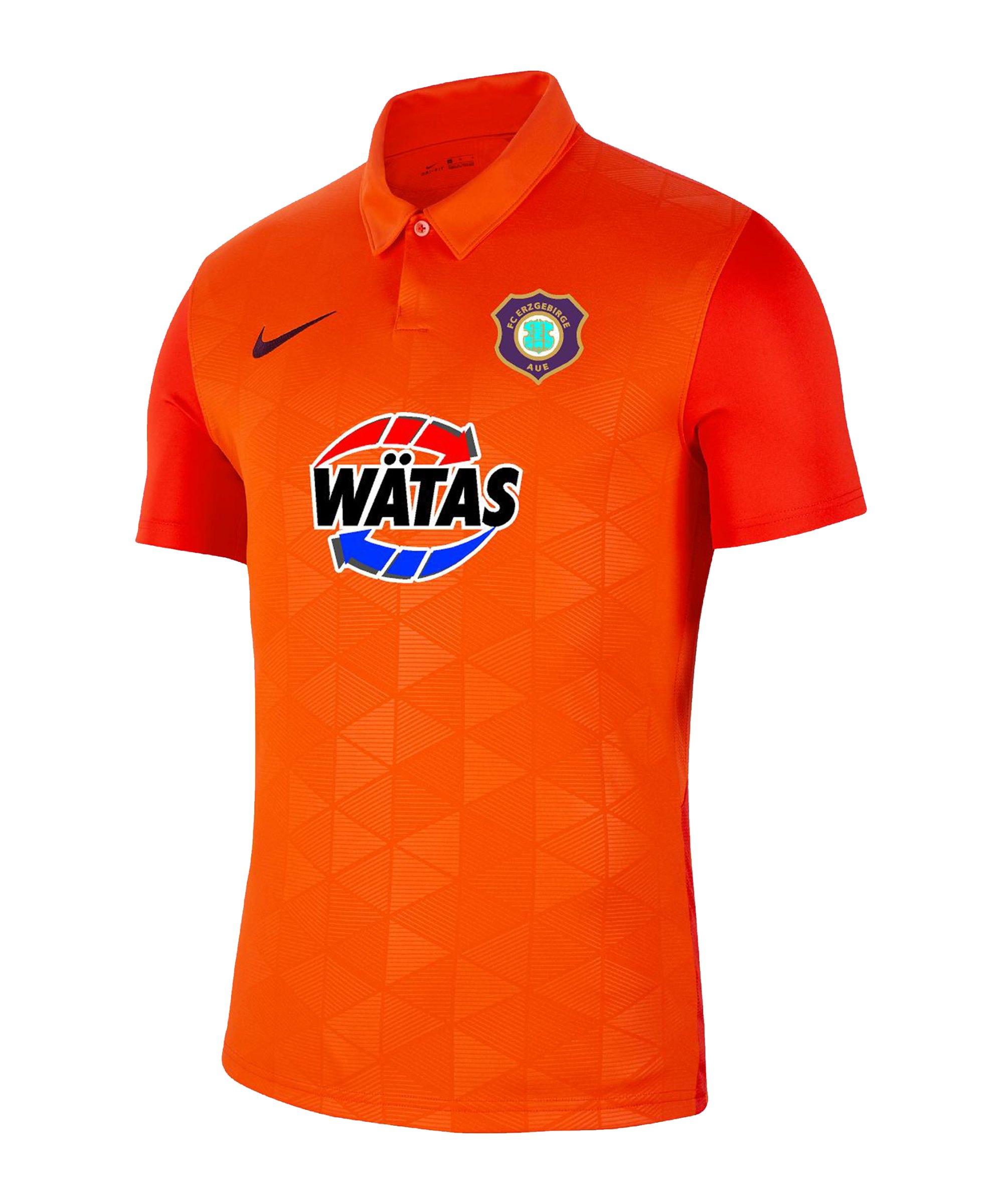 Nike FC Erzgebirge Aue Trikot 3rd 2021/2022 Orange F819 - orange