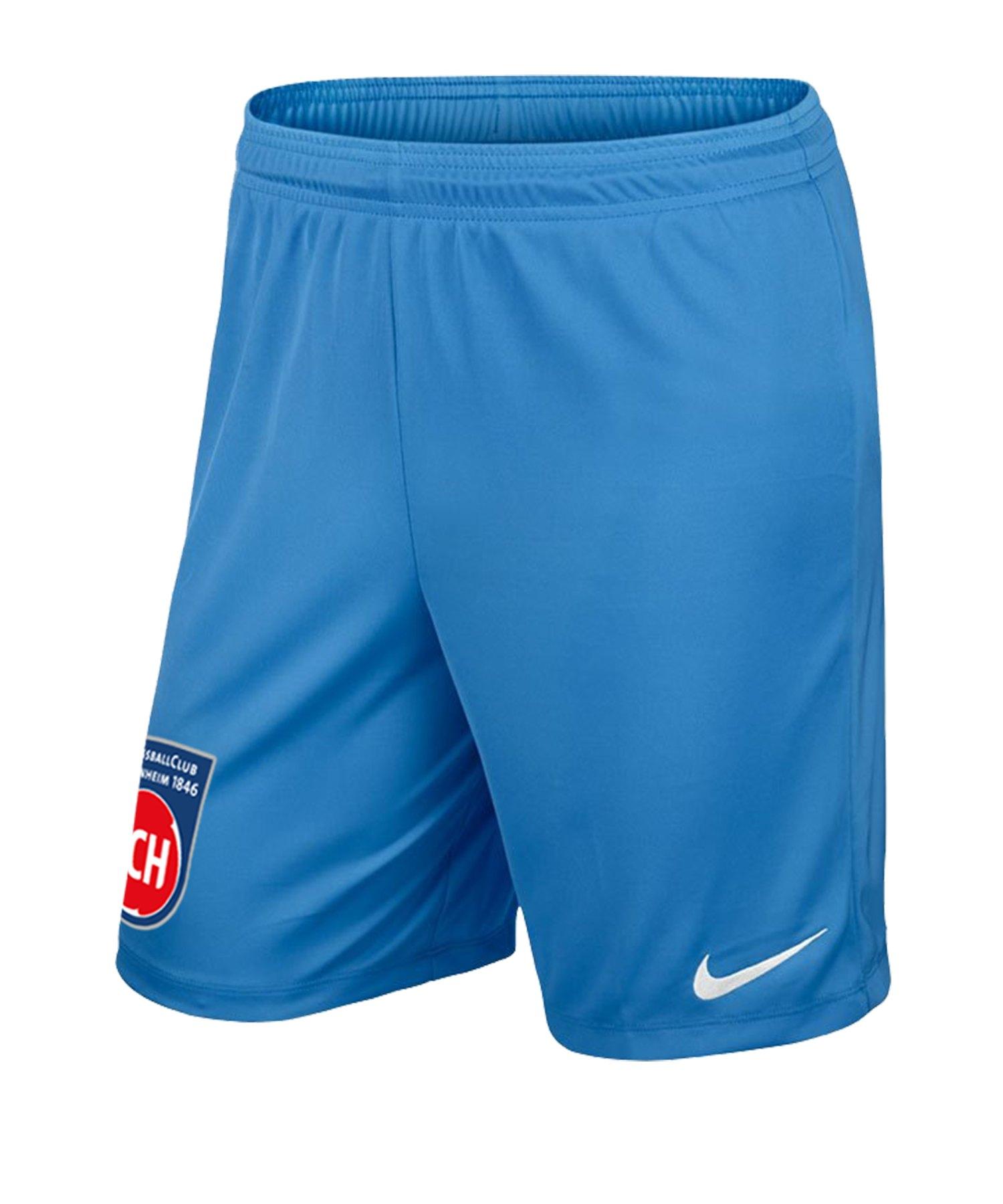 Nike 1. FC Heidenheim TW-Short 2019/2020 F412 - blau