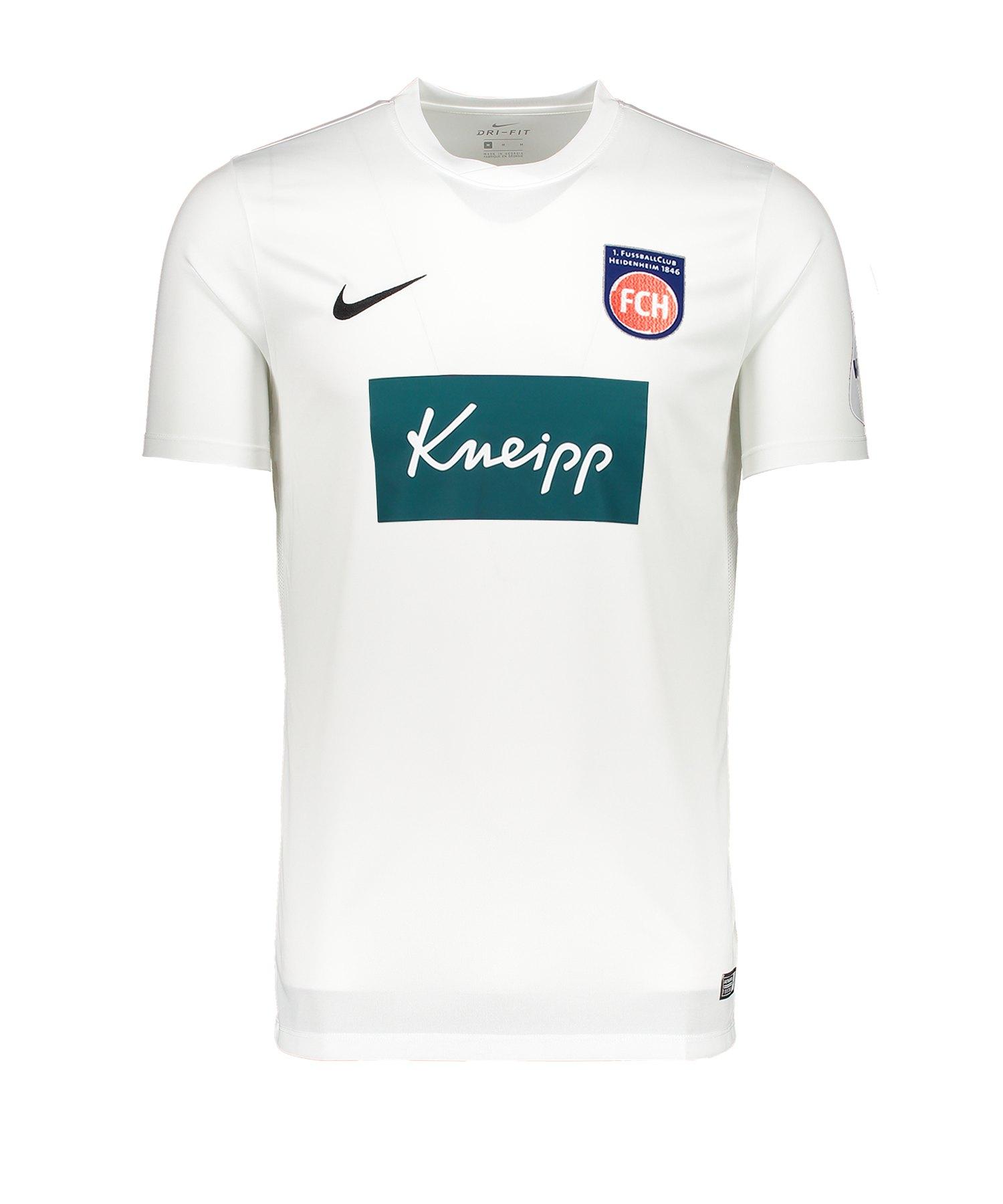 Nike 1. FC Heidenheim Trikot 3rd 2019/2020 Kids F100 - weiss