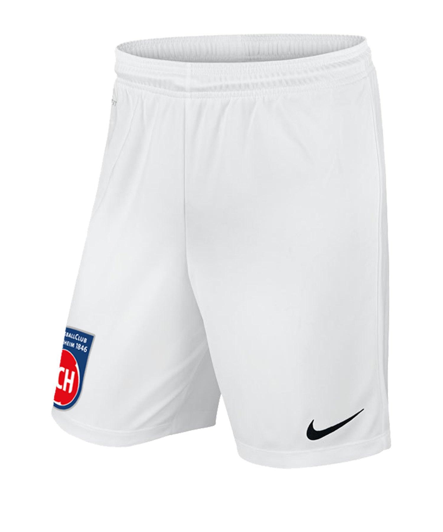 Nike 1. FC Heidenheim Short 3rd 2019/2020 Kids F100 - weiss