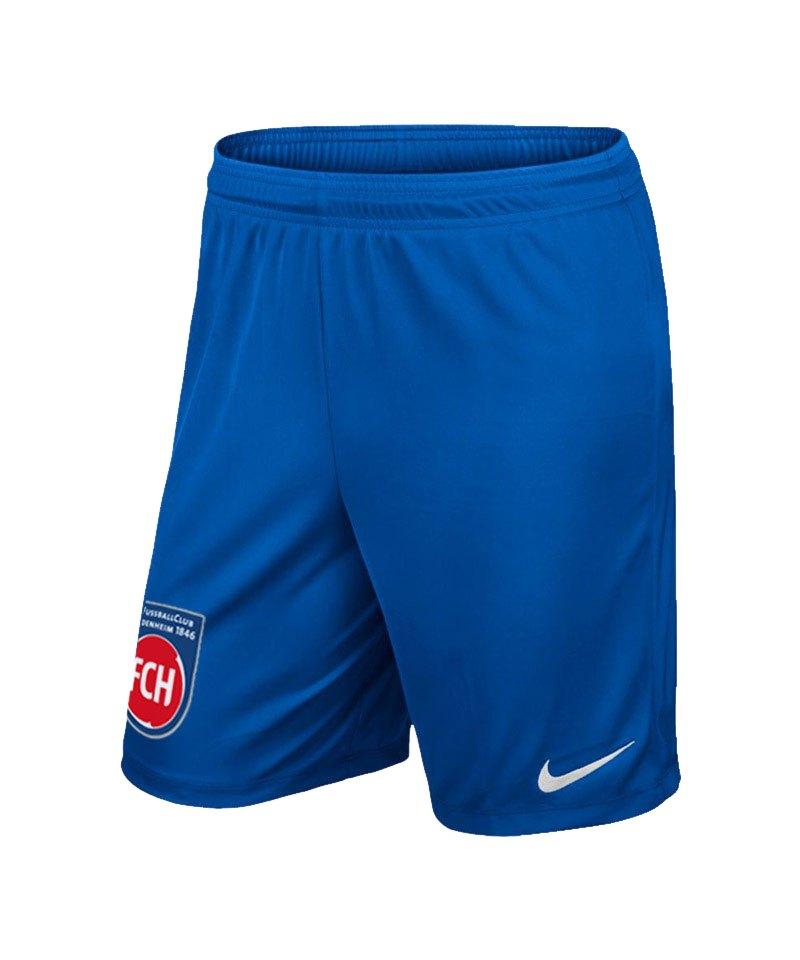 Nike 1. FC Heidenheim Short Away Kids 2019/2020 F463 - blau