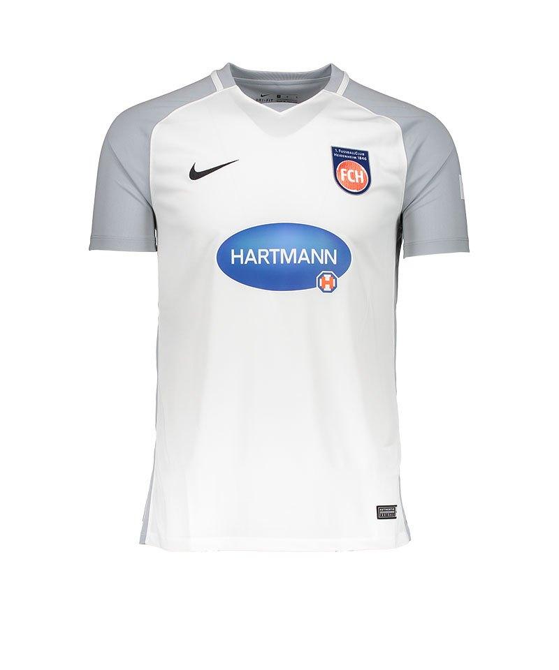 Nike 1. FC Heidenheim Trikot 3rd Kids 17/18 F100 - weiss