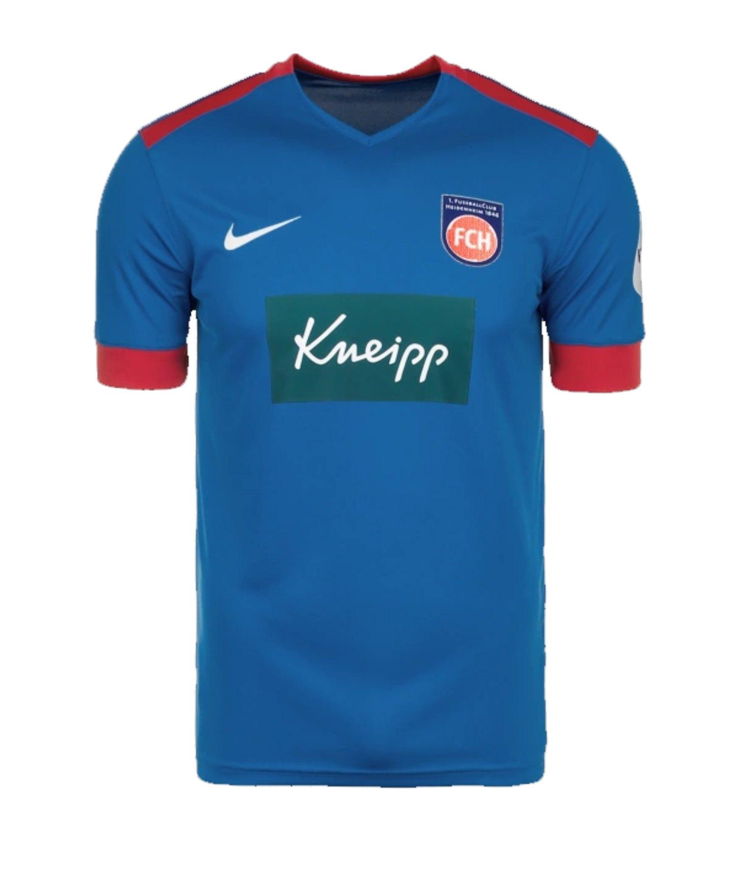 Nike 1. FC Heidenheim Trikot Away 2019/2020 Kids F463 - blau