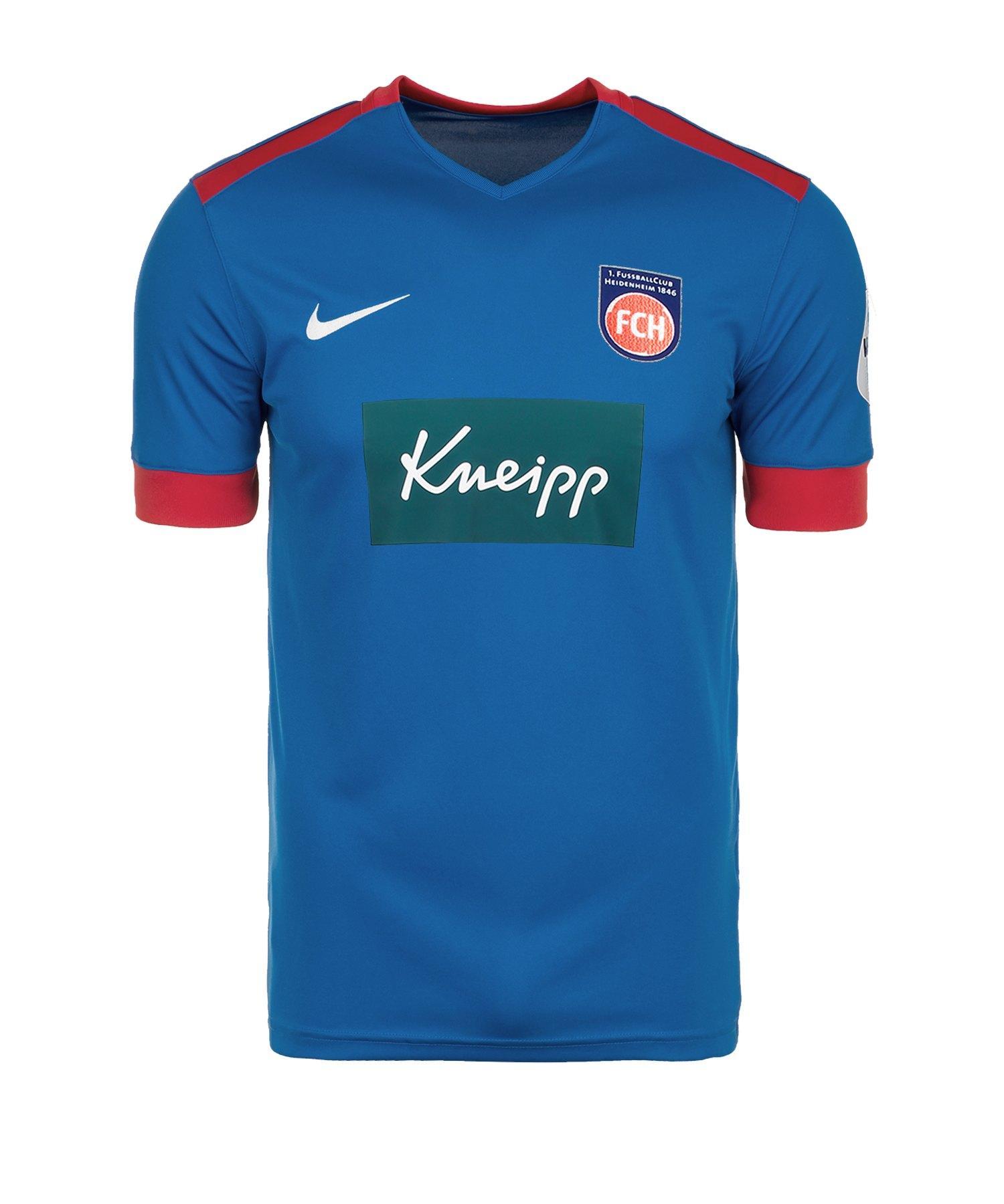 Nike 1. FC Heidenheim Trikot Away 2019/2020 F463 - blau
