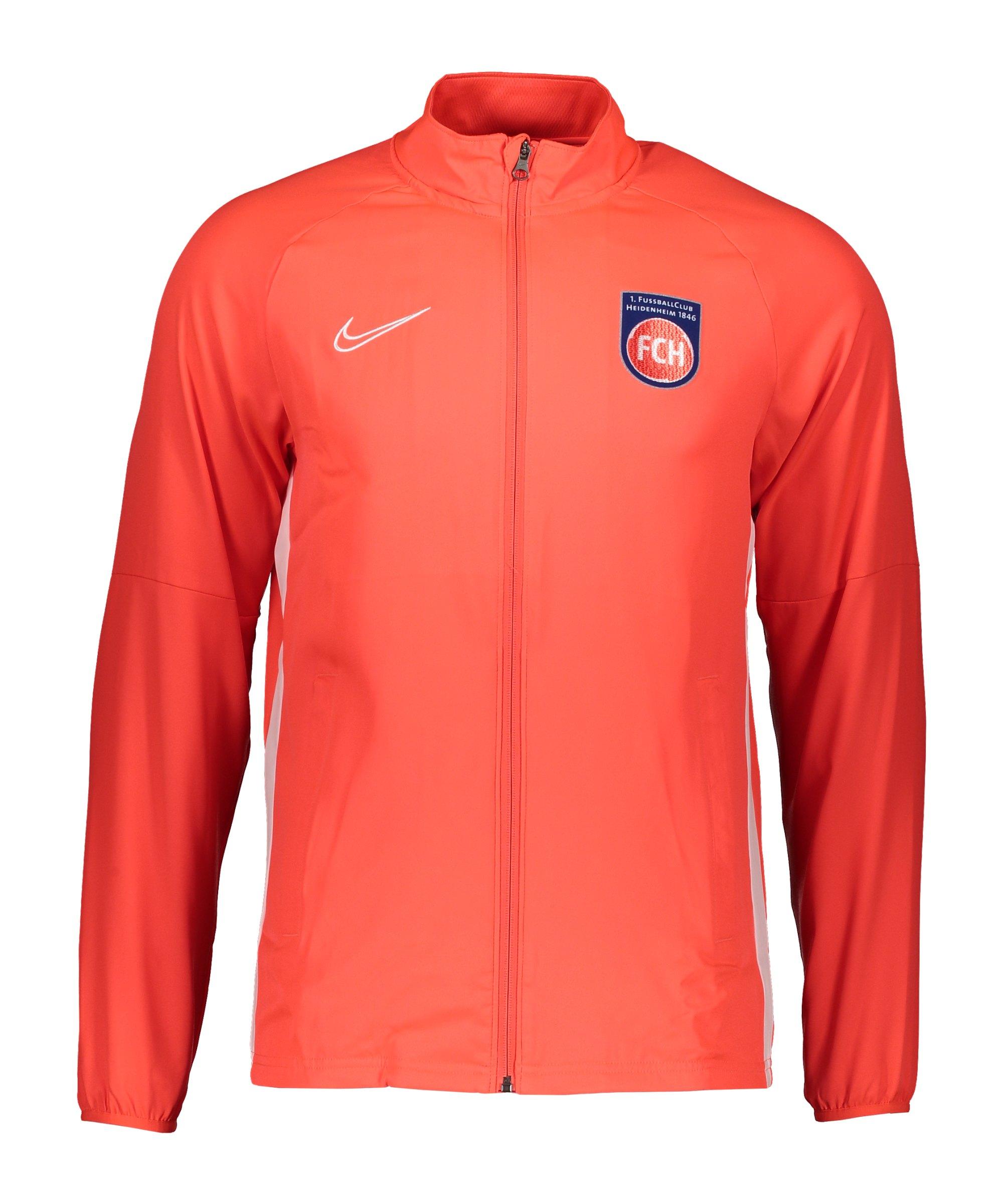 Nike 1. FC Heidenheim Trainingsjacke Rot F671 - rot