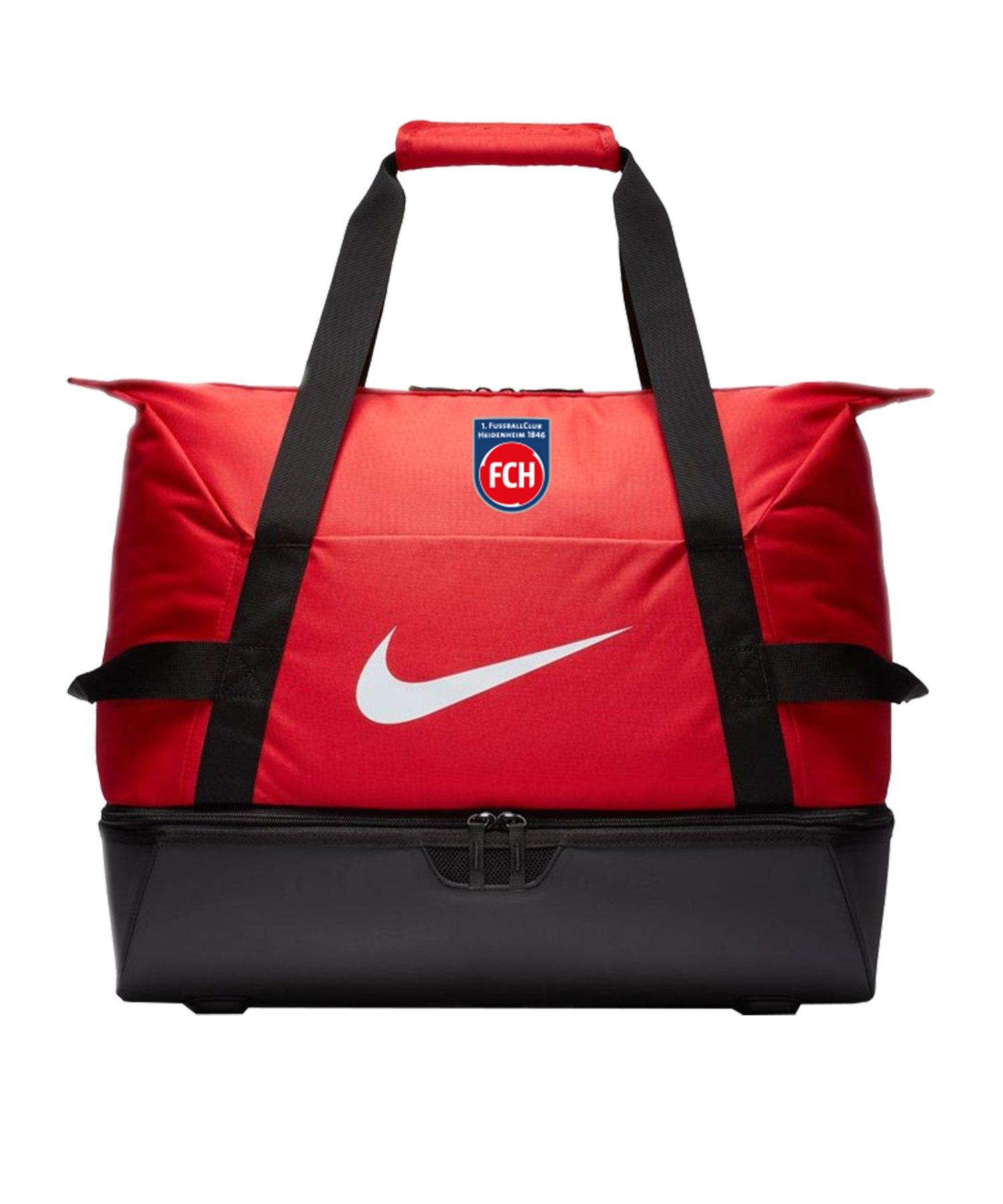 Nike 1. FC Heidenheim Sporttasche Large Rot F657 - rot