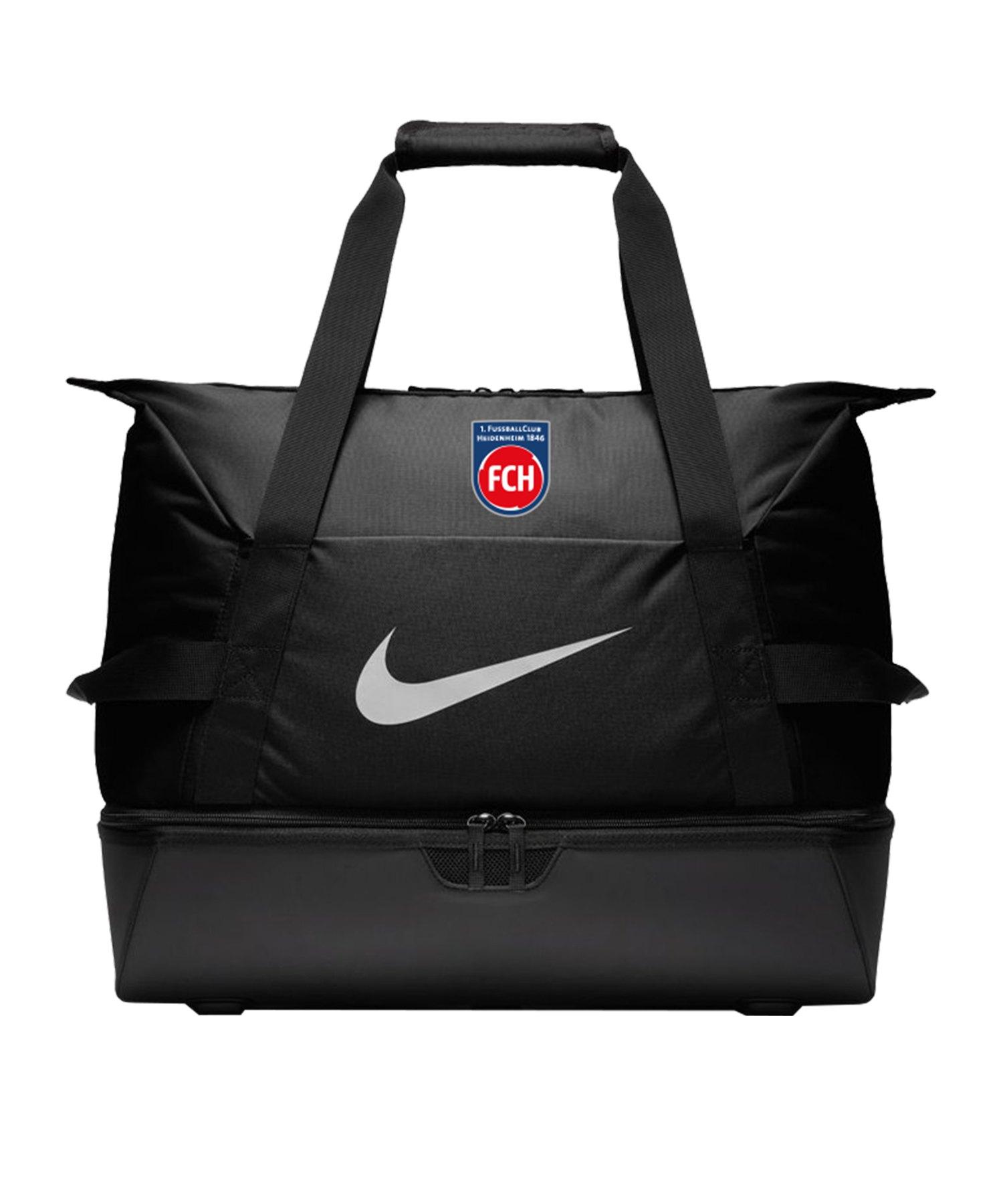 Nike 1. FC Heidenheim Sporttasche Large Schwarz F010 - schwarz