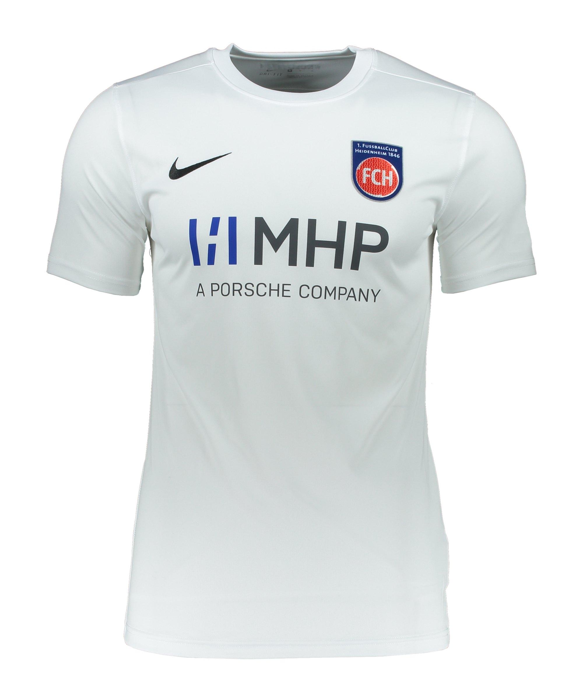 Nike 1. FC Heidenheim Trikot 3rd 2021/2022 Weiss F100 - weiss