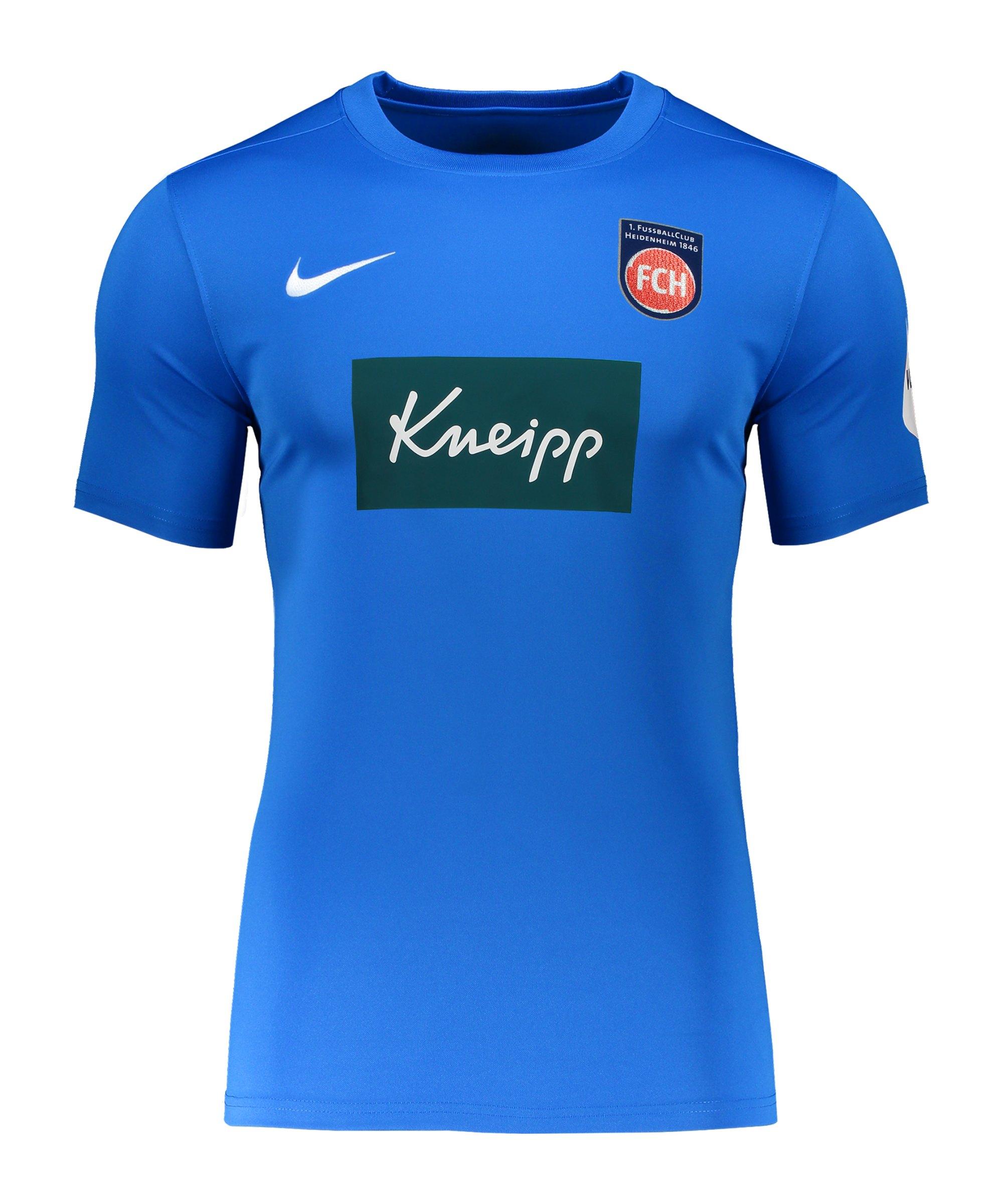 Nike 1. FC Heidenheim Trikot Away 2020/2021 Kids Blau F463 - blau