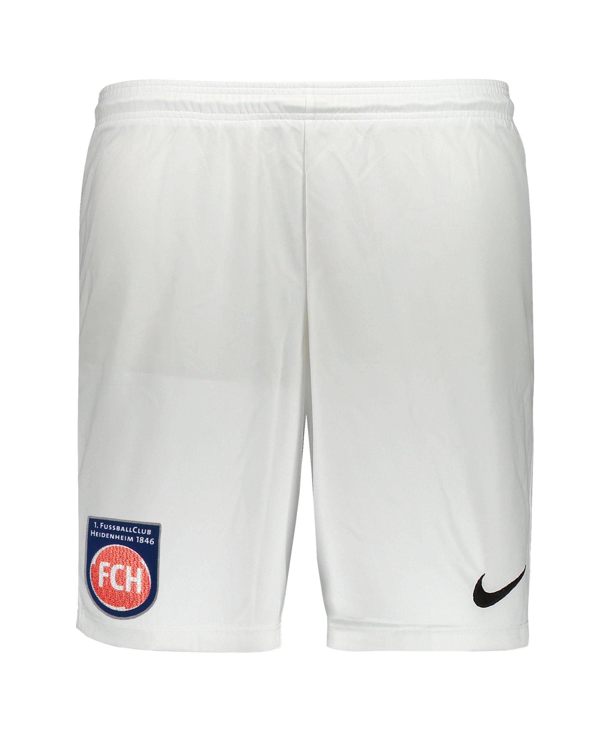 Nike 1. FC Heidenheim Short 3rd 21/22 Weiss F100 - weiss