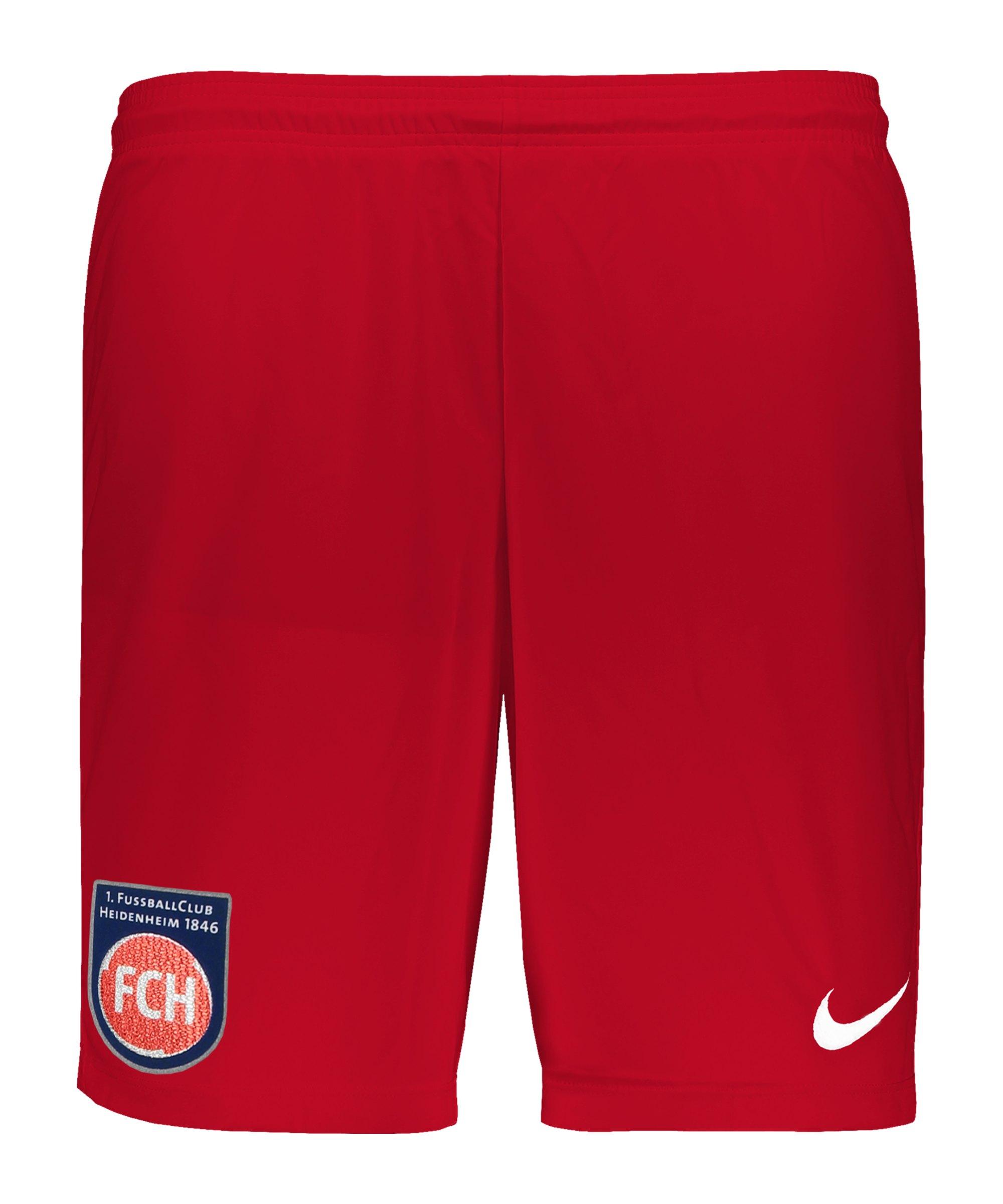Nike 1. FC Heidenheim Short Home 2020/2021 F657 - rot