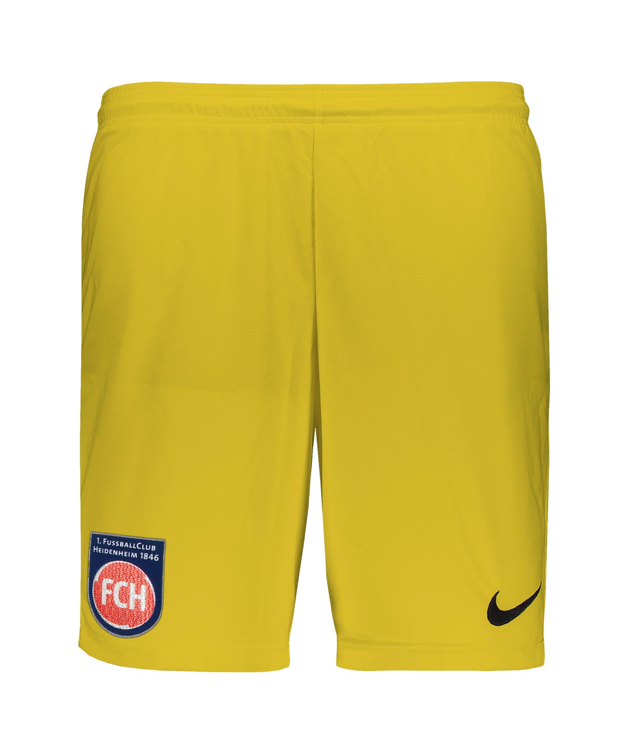 Nike 1. FC Heidenheim TW-Short Gelb F719 - gelb