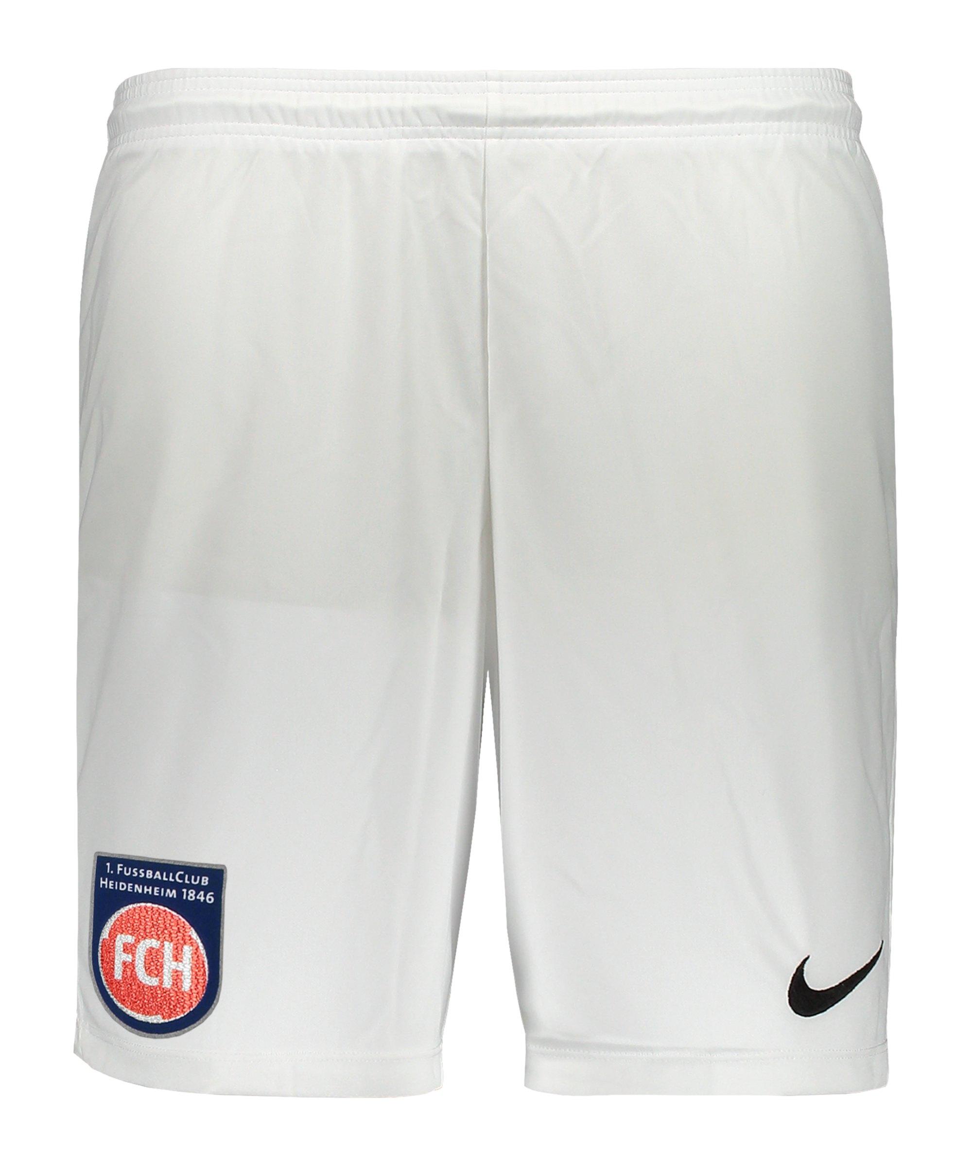 Nike 1. FC Heidenheim Short 3rd 2020/2021 Kids Weiss F100 - weiss