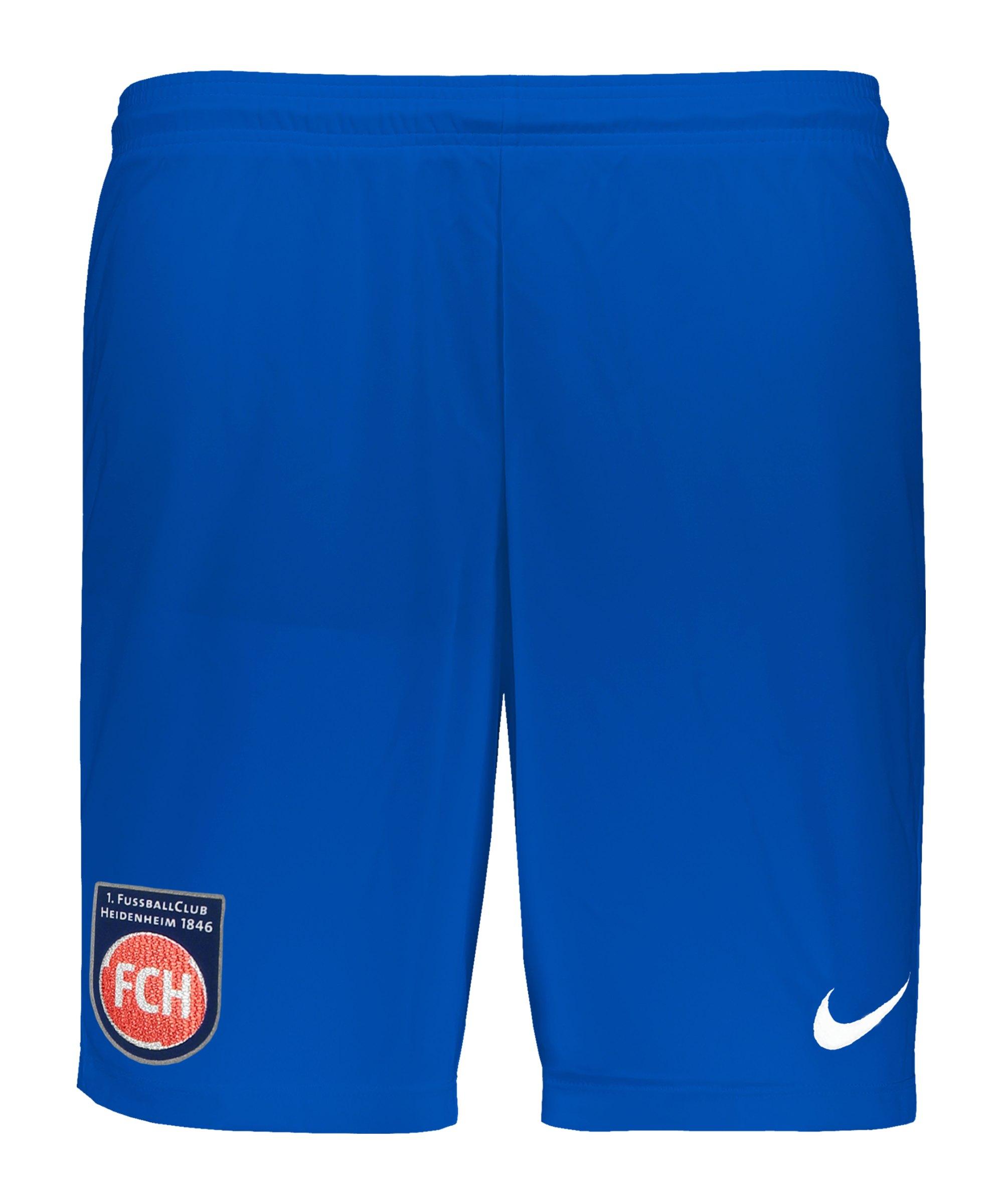 Nike 1. FC Heidenheim Short Away 2020/2021 Kids Blau F463 - blau
