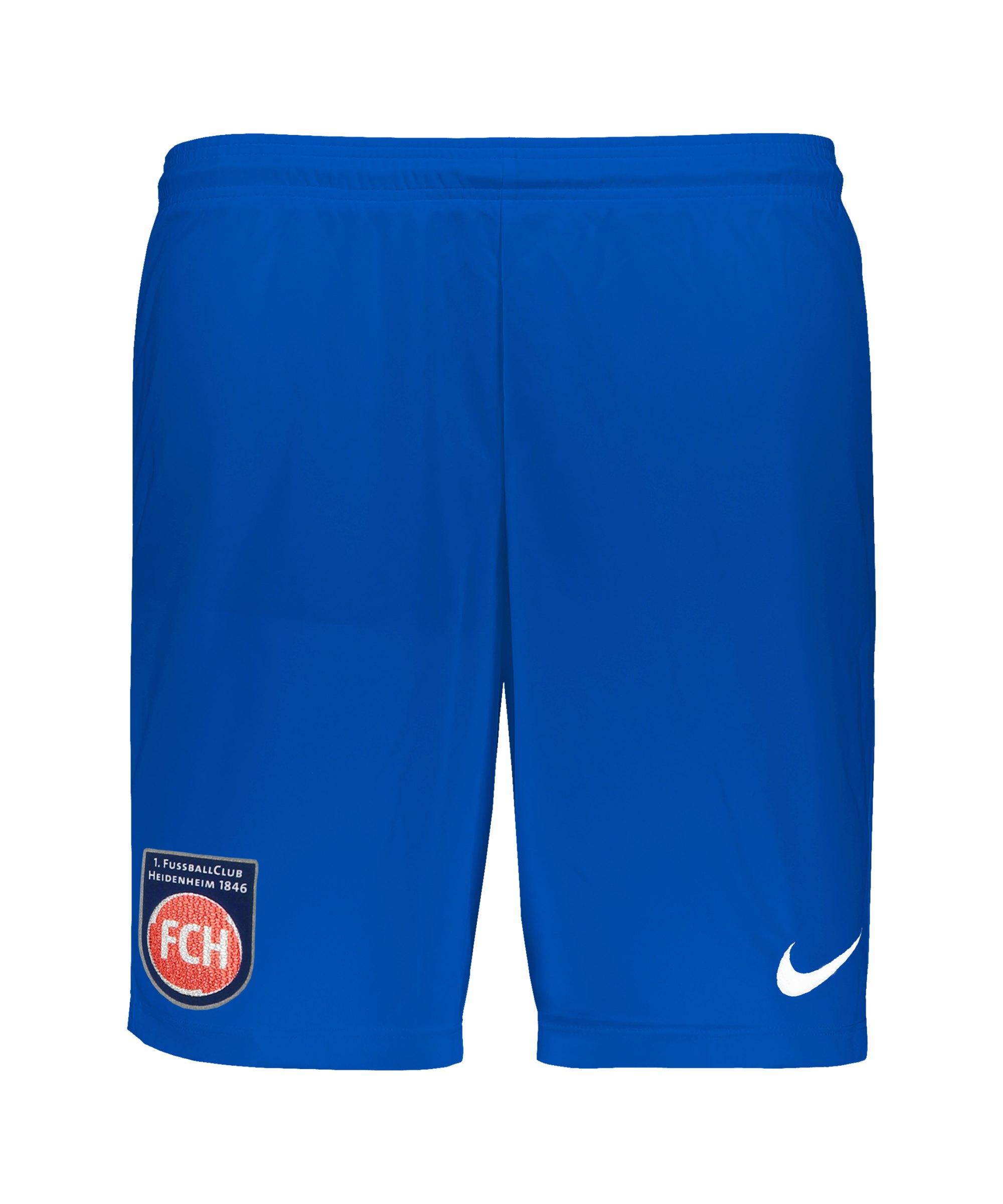 Nike 1. FC Heidenheim Short Away 21/22 Kids F463 - blau