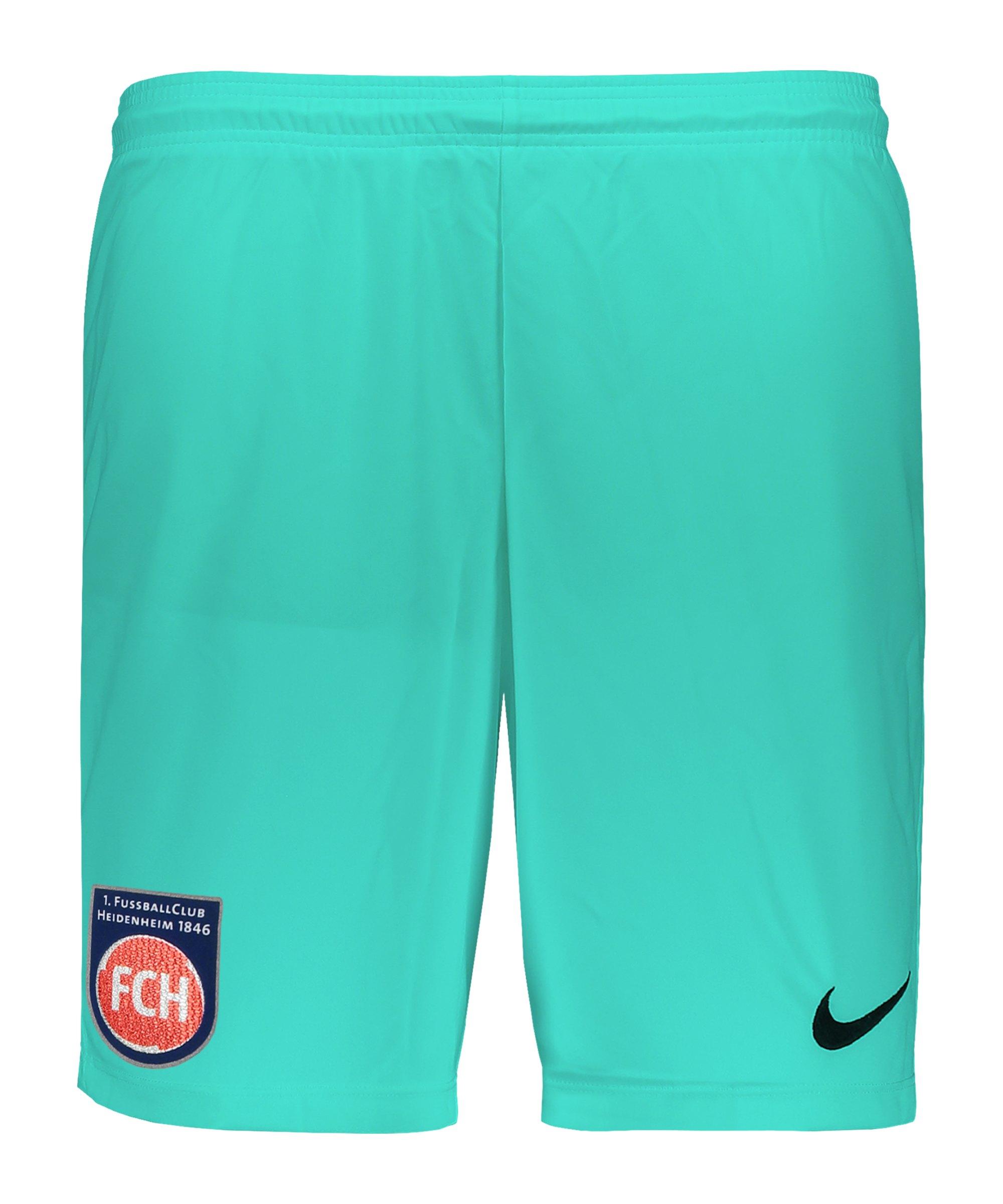 Nike 1. FC Heidenheim Torwartshort 2020/2021 Kids Grün F354 - gruen
