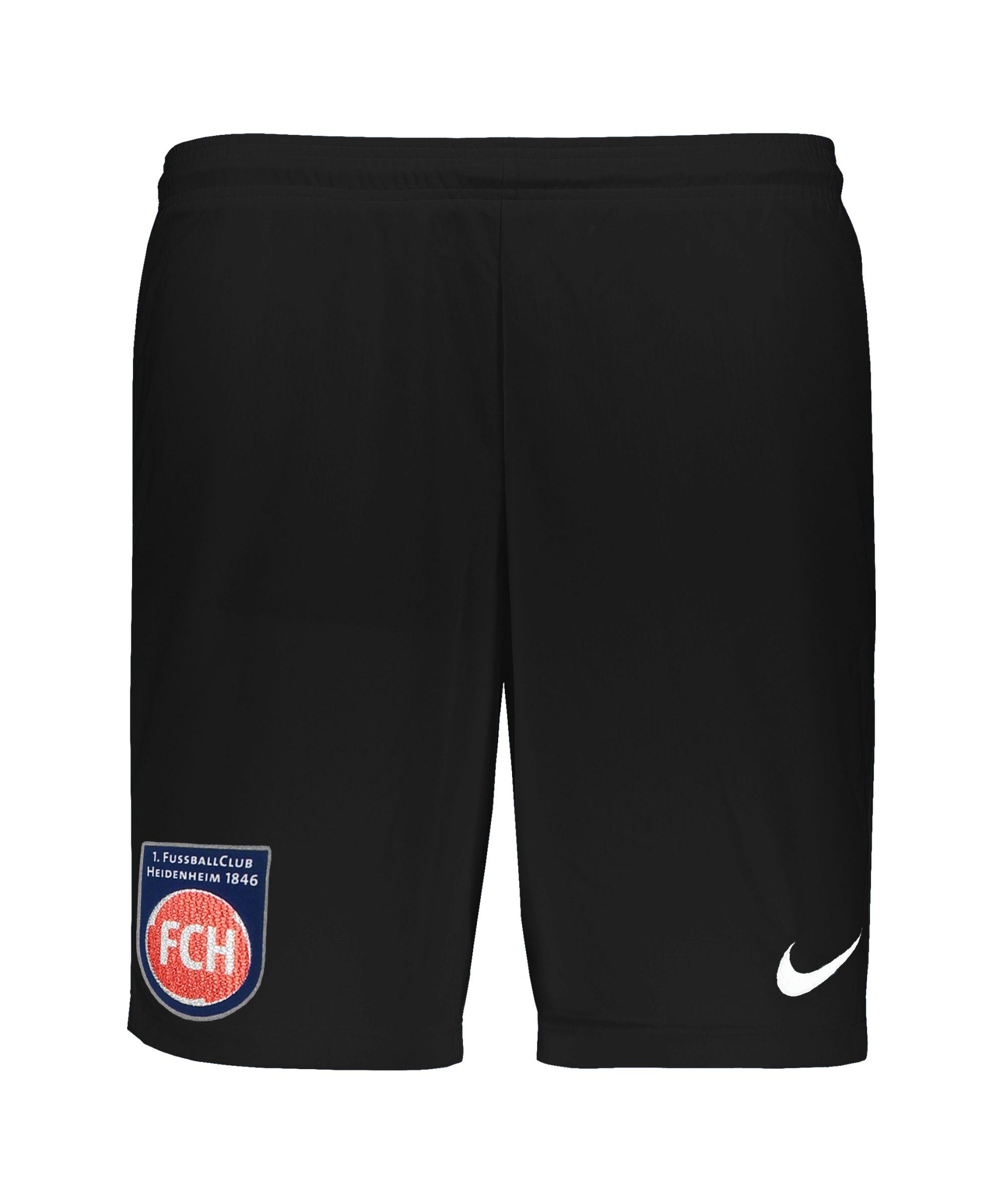 Nike 1. FC Heidenheim Trainingsshort Kids F010 - schwarz