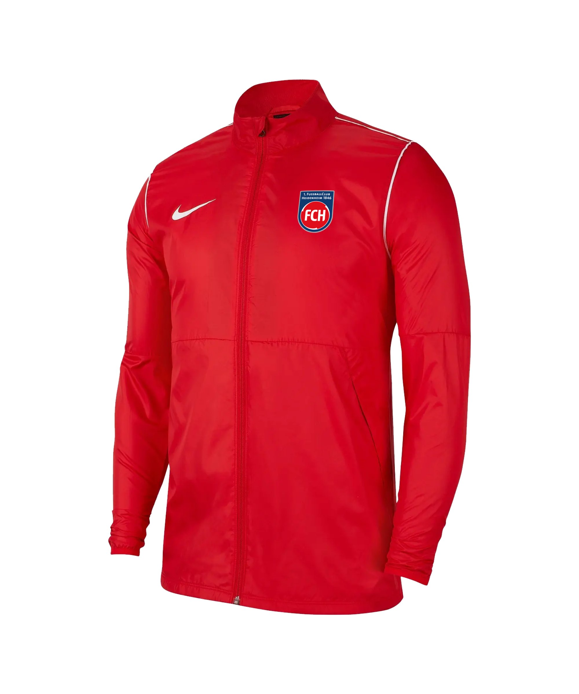 Nike 1. FC Heidenheim Regenjacke Rot F657 - rot