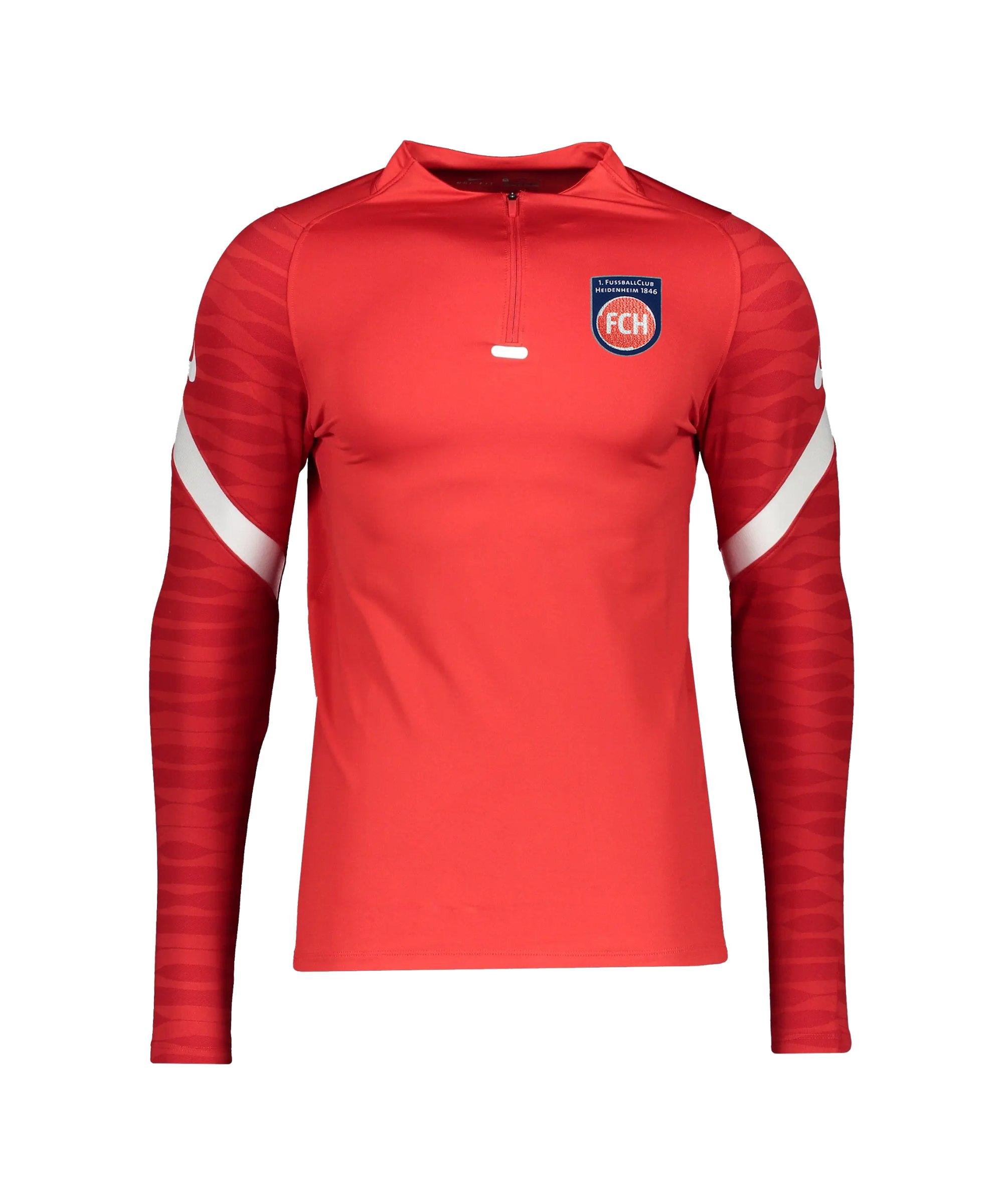 Nike 1. FC Heidenheim Drill Sweatshirt Rot F657 - rot