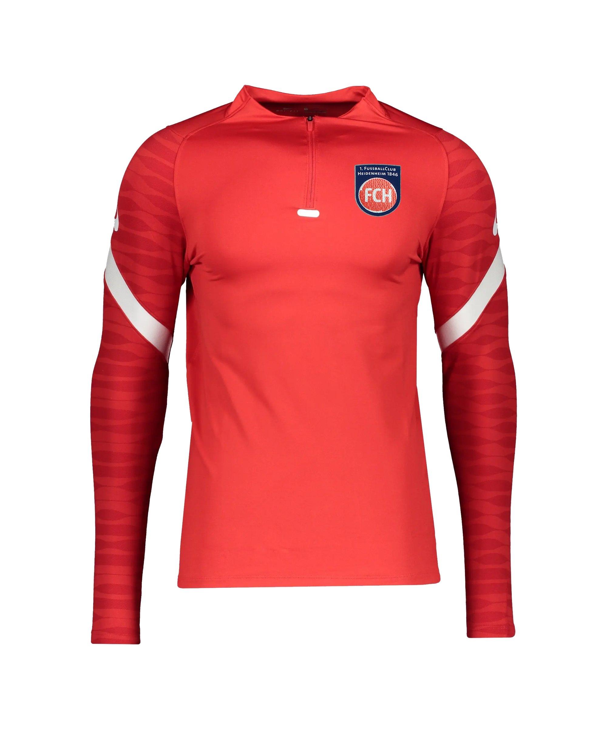 Nike 1. FC Heidenheim Drill Sweatshirt Kids F657 - rot