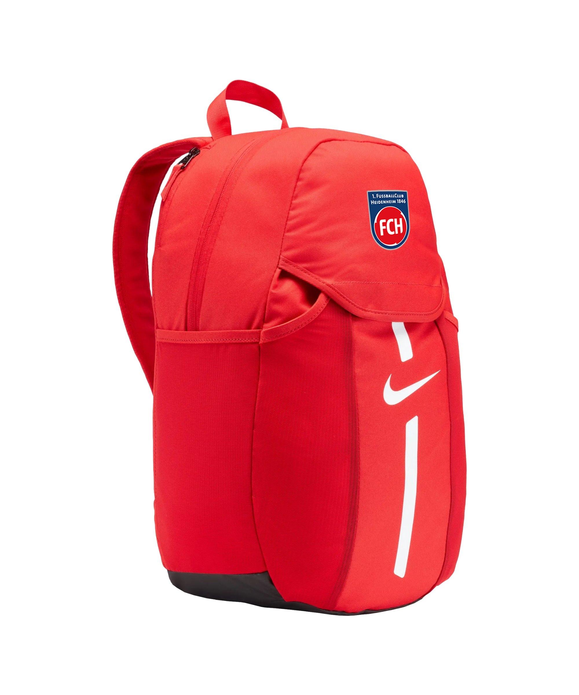 Nike 1. FC Heidenheim Rucksack Rot F657 - rot