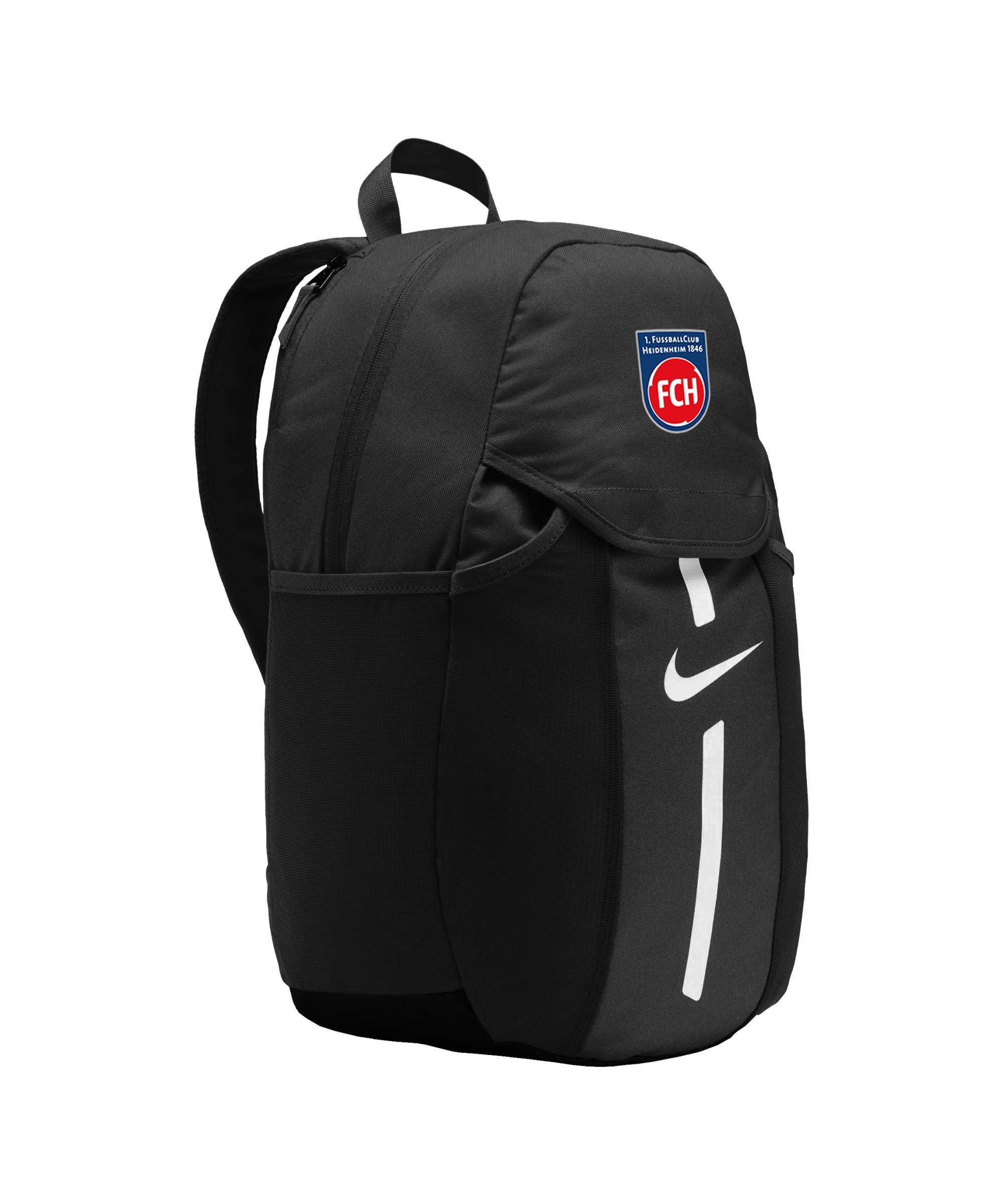 Nike 1. FC Heidenheim Rucksack Schwarz F010 - schwarz