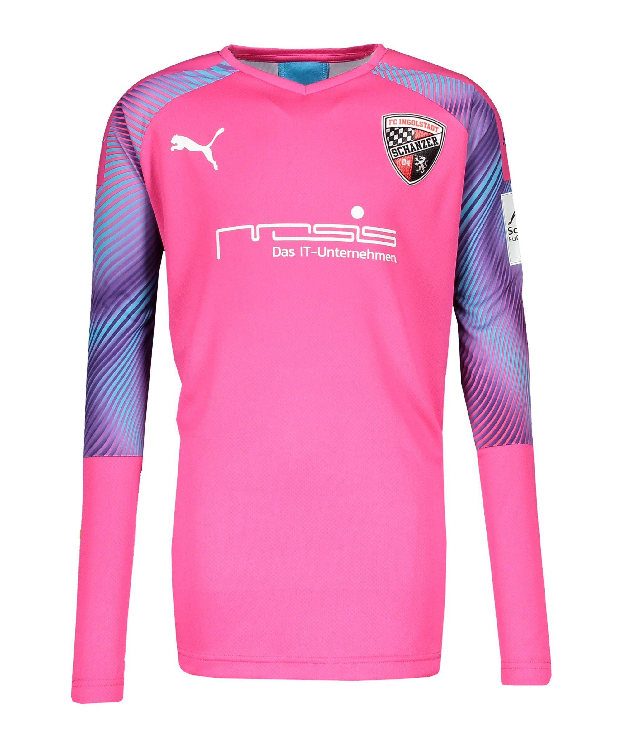 PUMA FC Ingolstadt 04 Torwarttrikot 2020/2021 Kids Pink F41 - pink