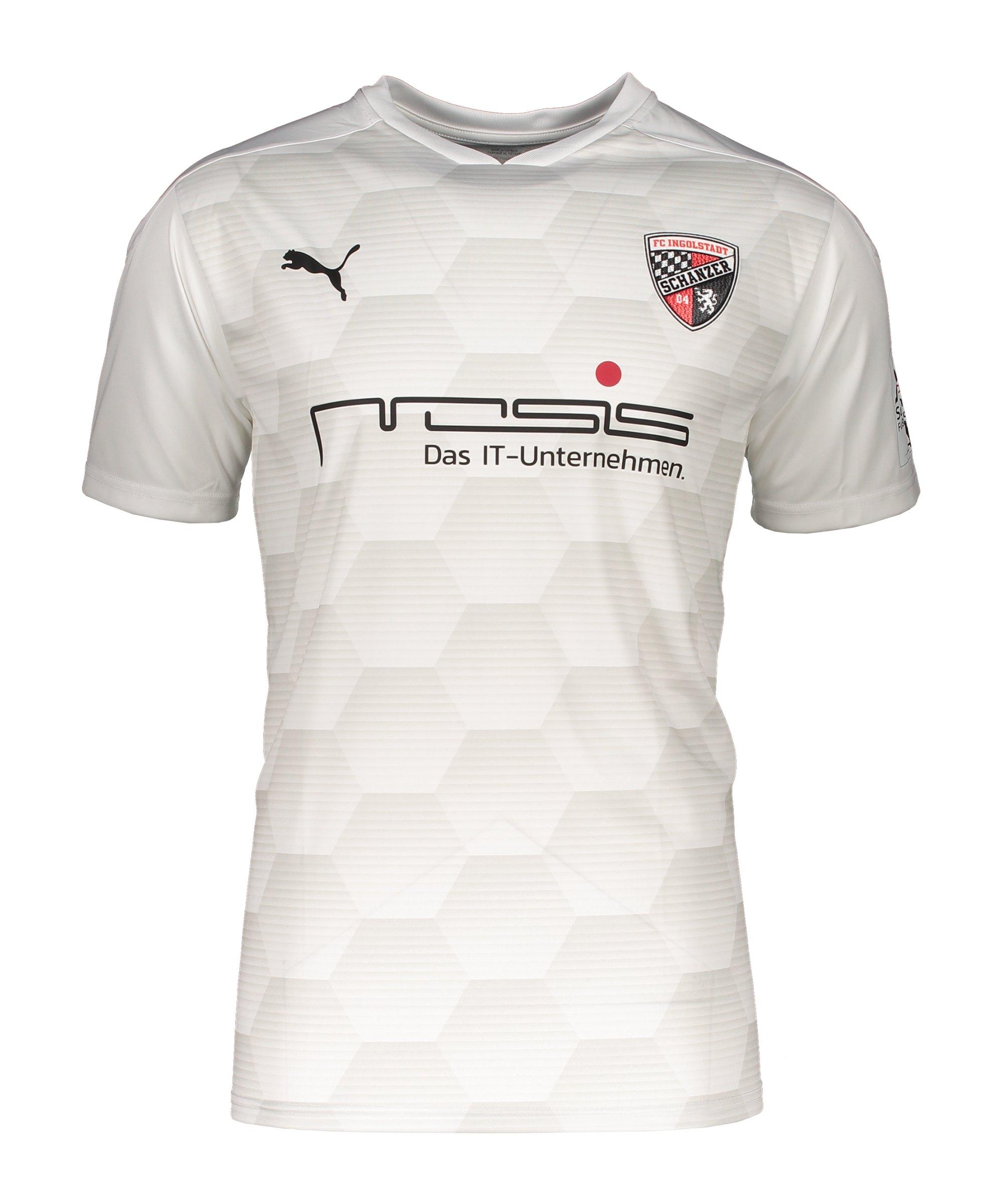 PUMA FC Ingolstadt 04 Trikot 3rd 2020/2021 Weiss F04 - weiss