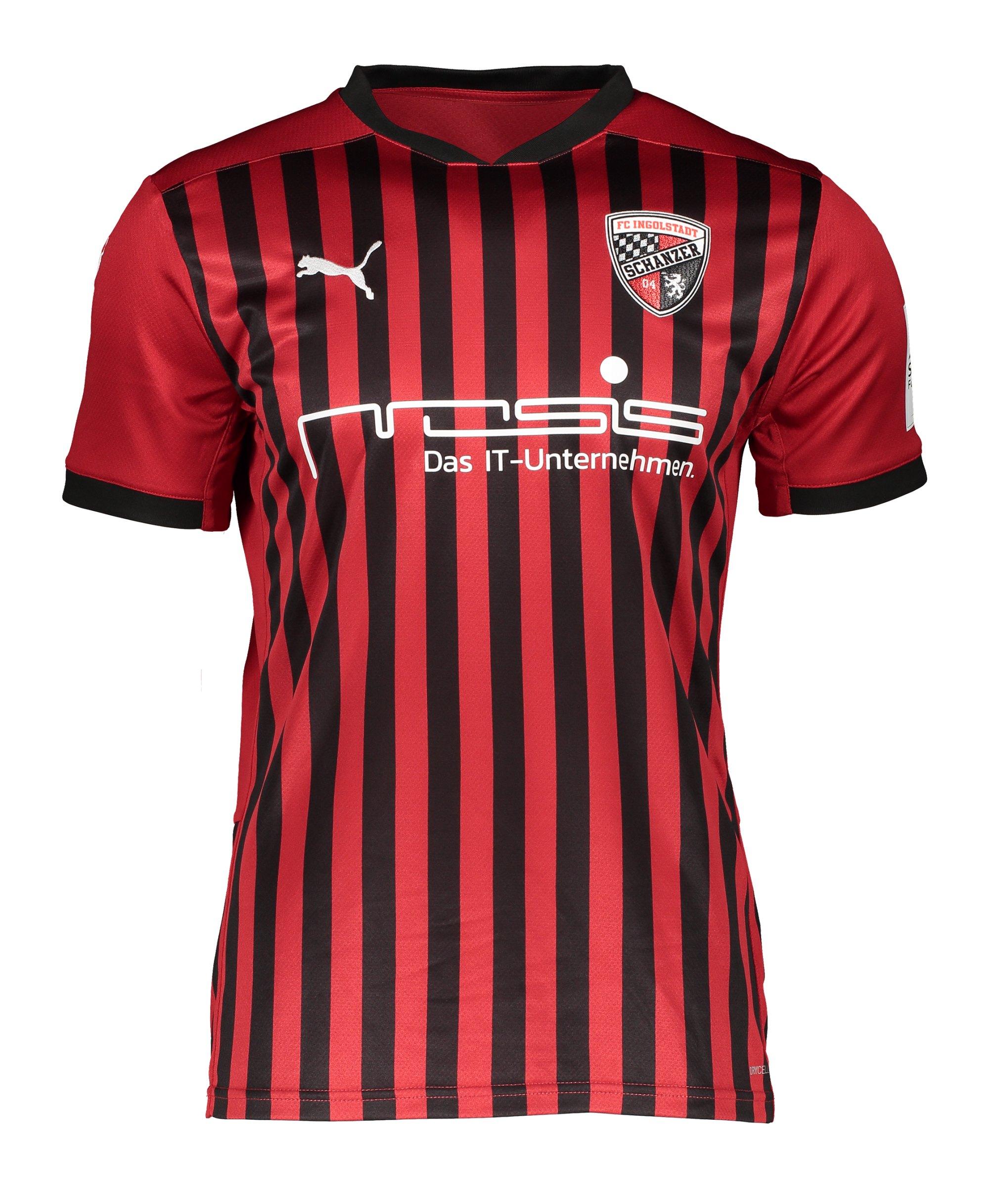 PUMA FC Ingolstadt 04 Trikot Home 2020/2021 Kids Rot F01 - rot