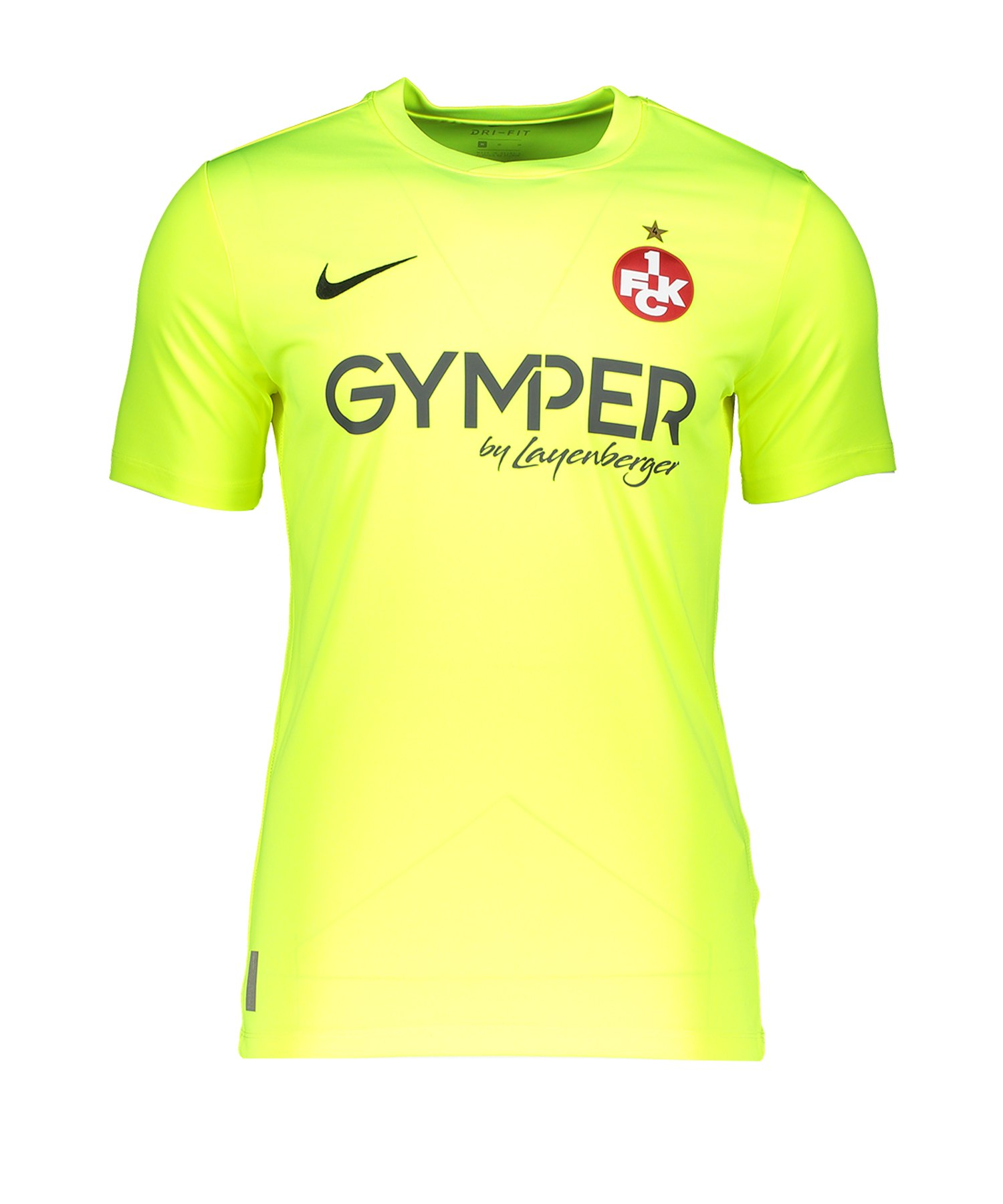 Nike 1. FC Kaiserslautern TW-Trikot 19/20 Kids F702 - gelb