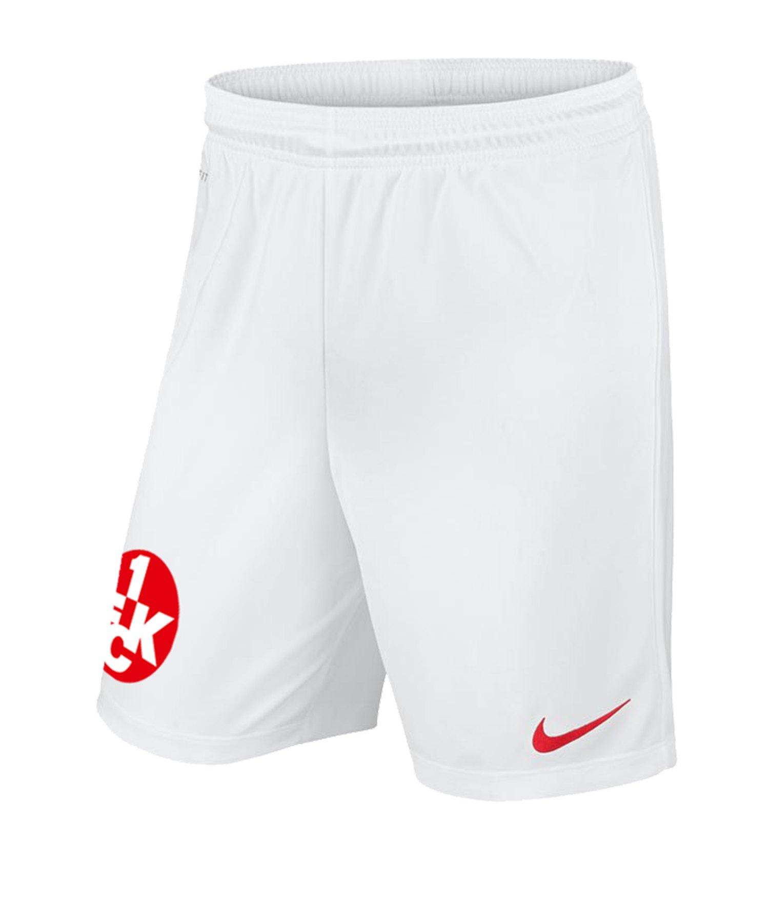Nike 1. FC Kaiserslautern Short Home 19/20 Kids F102 - weiss