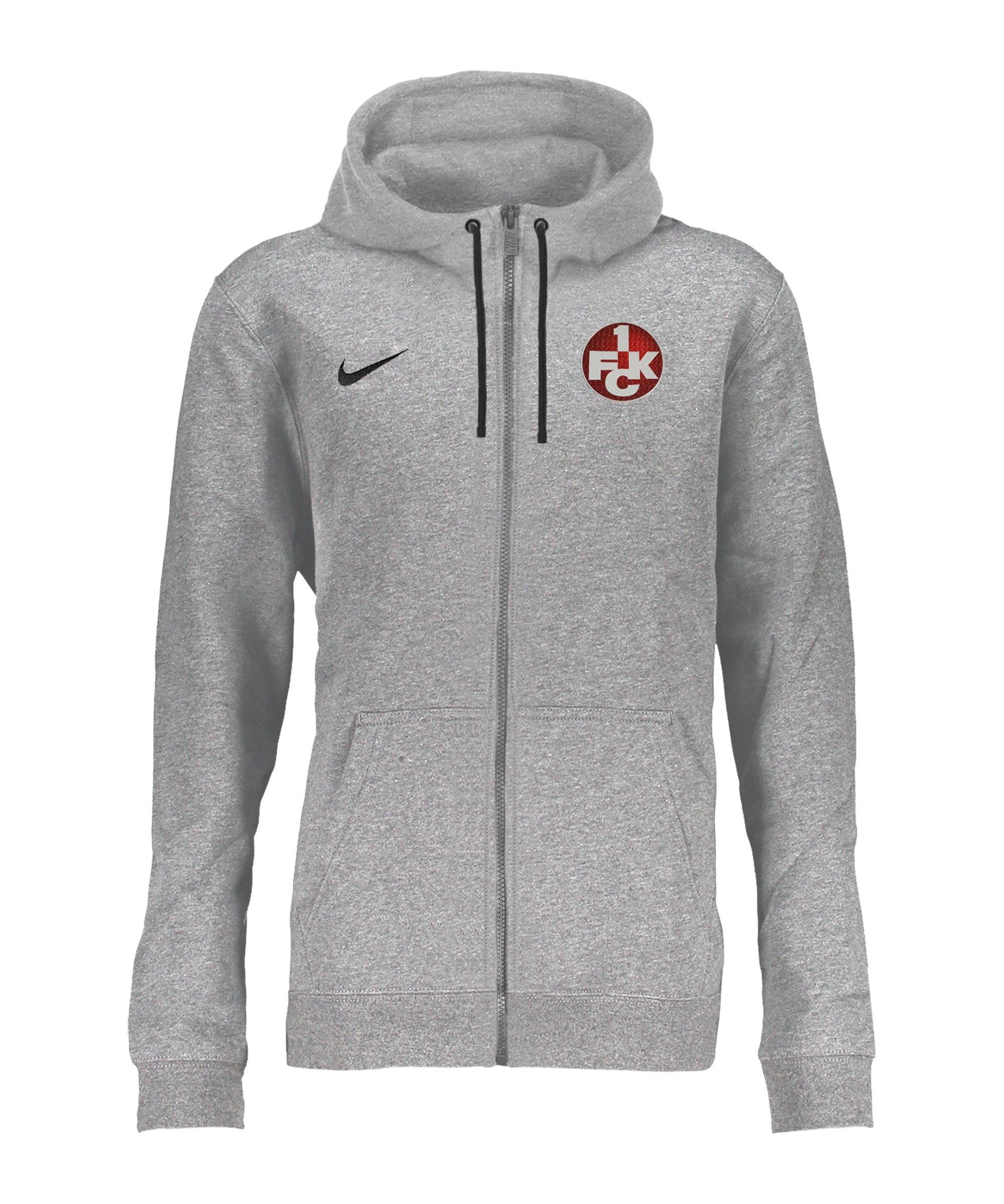 Nike 1. FC Kaiserslautern Kapuzenjacke F063 - grau